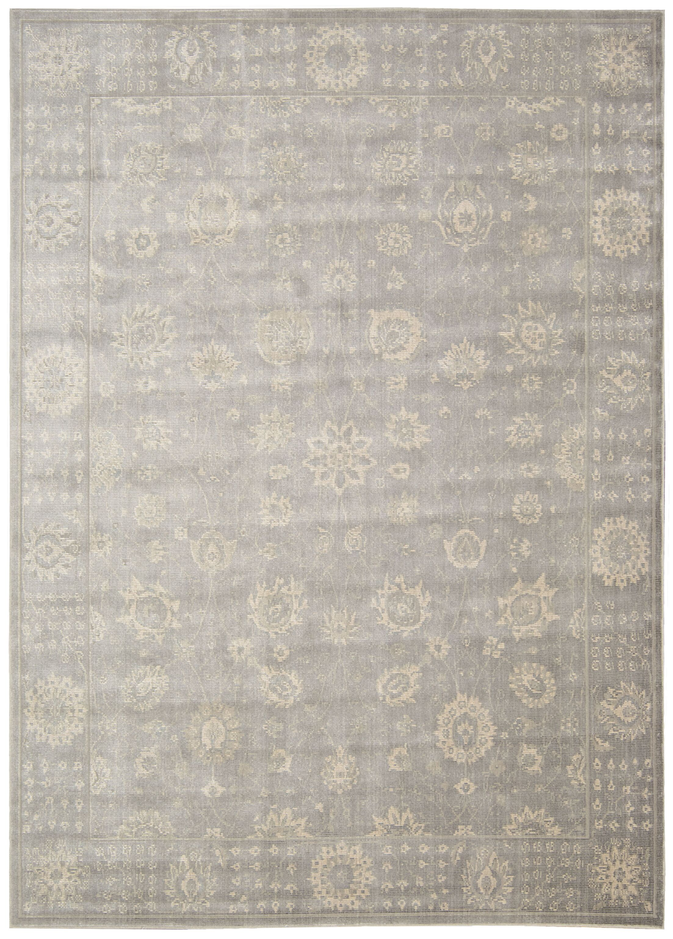 Bourgault Ironstone Area Rug Rug Size: Rectangle 5'3
