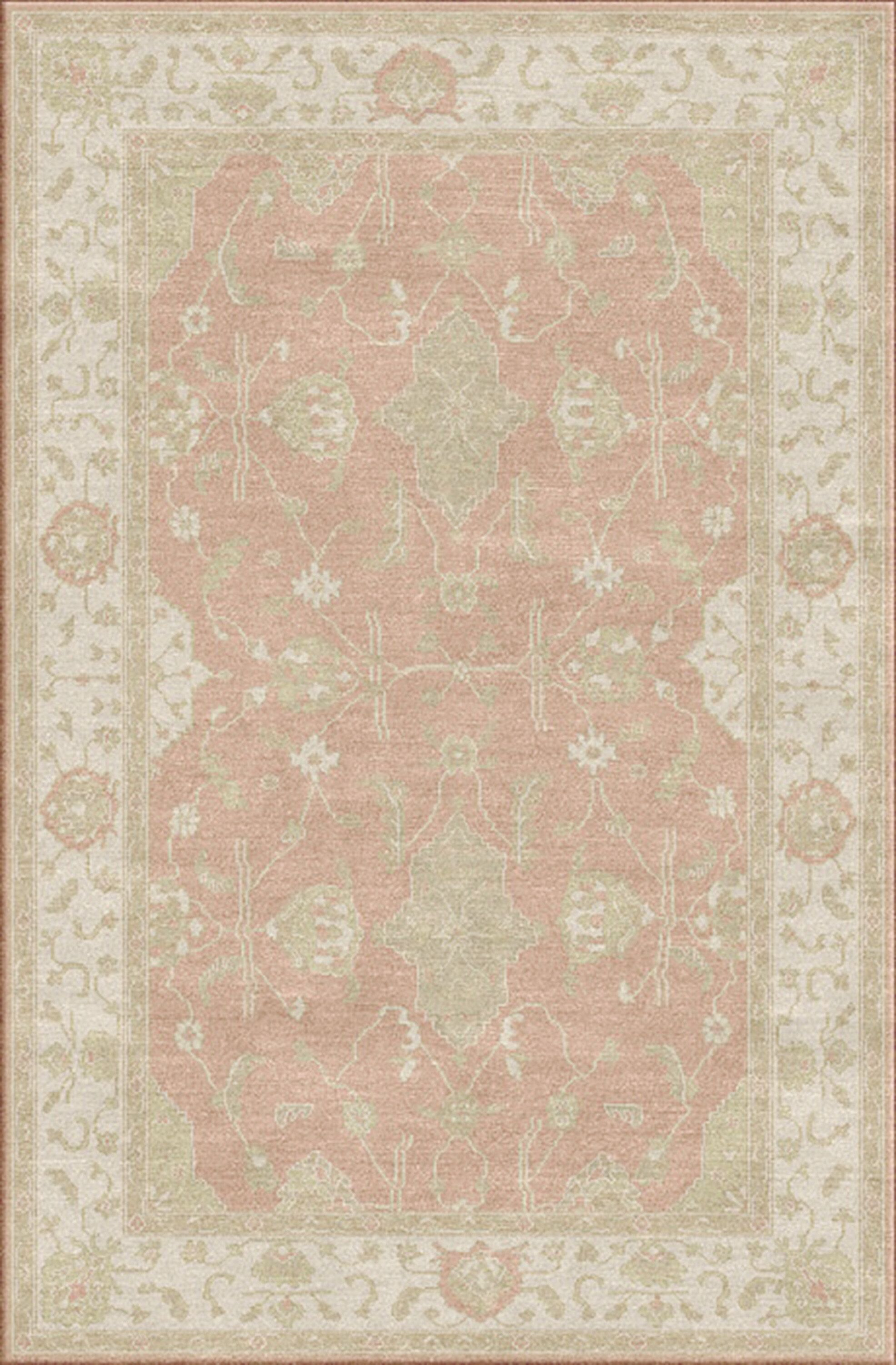 Loire Taupe Area Rug Rug Size: Rectangle 6' x 9'
