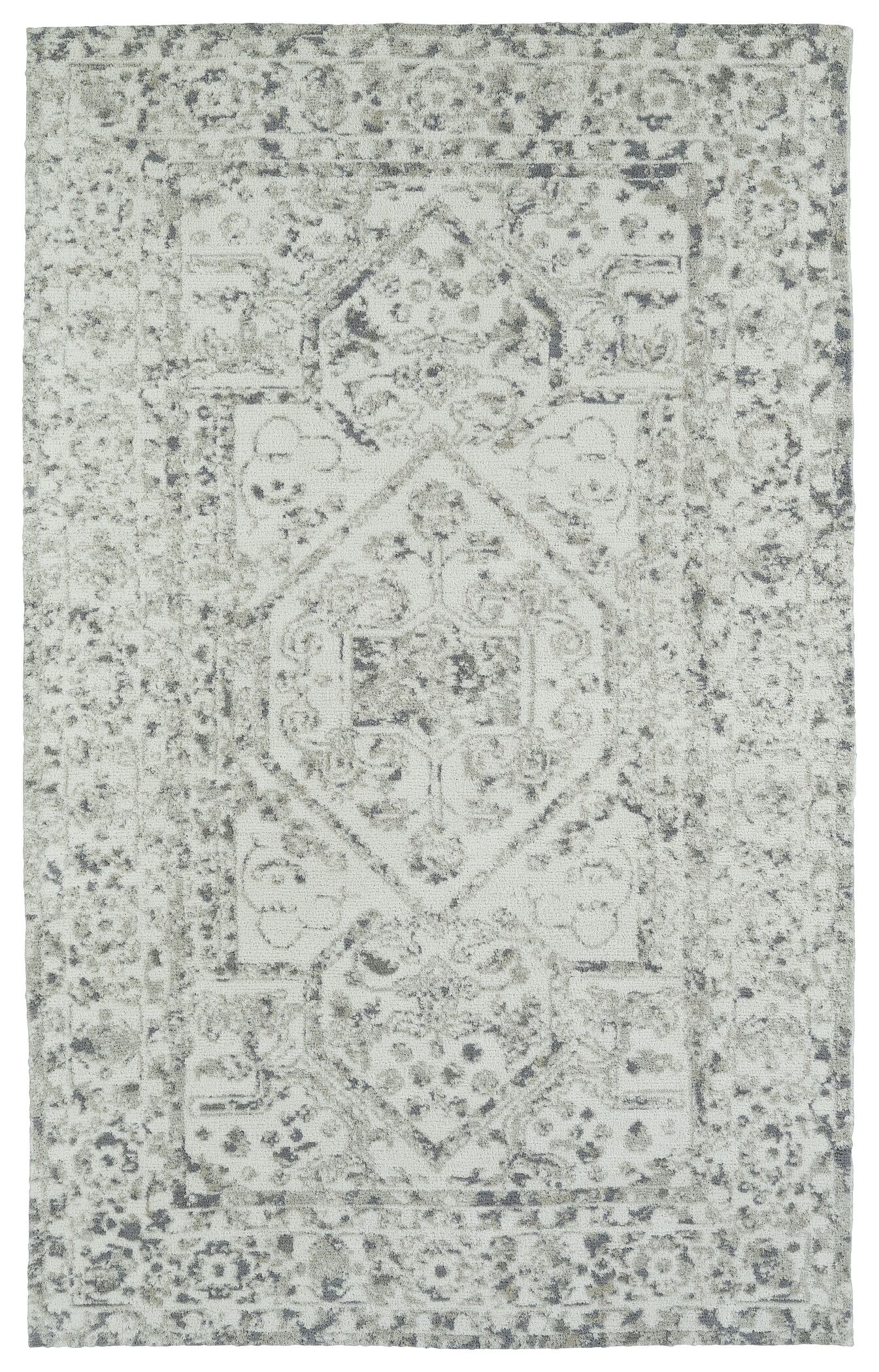 Theroux Ivory Area Rug Rug Size: Rectangle 9' x 12'