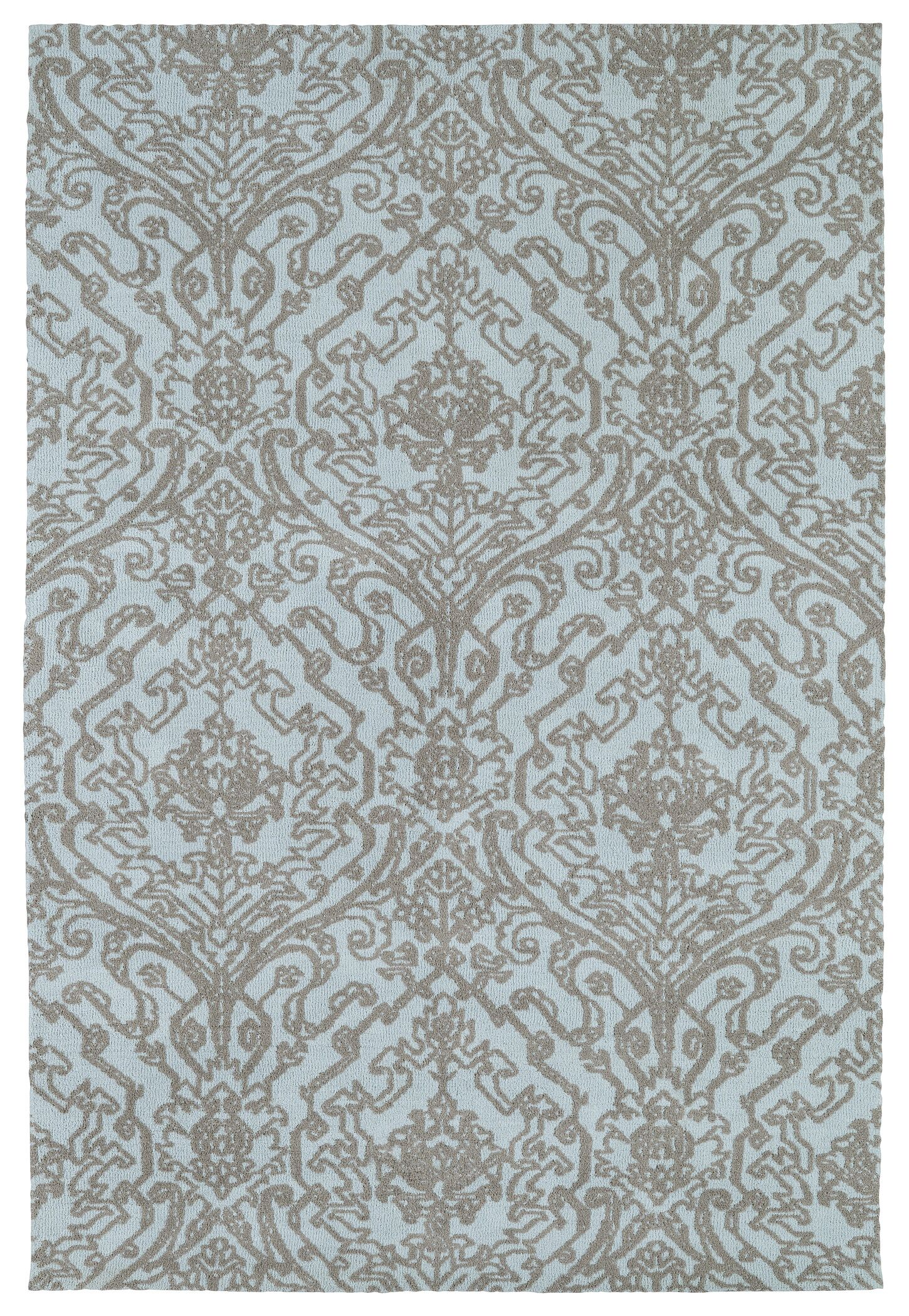 Theroux Blue Area Rug Rug Size: Rectangle 3' x 5'