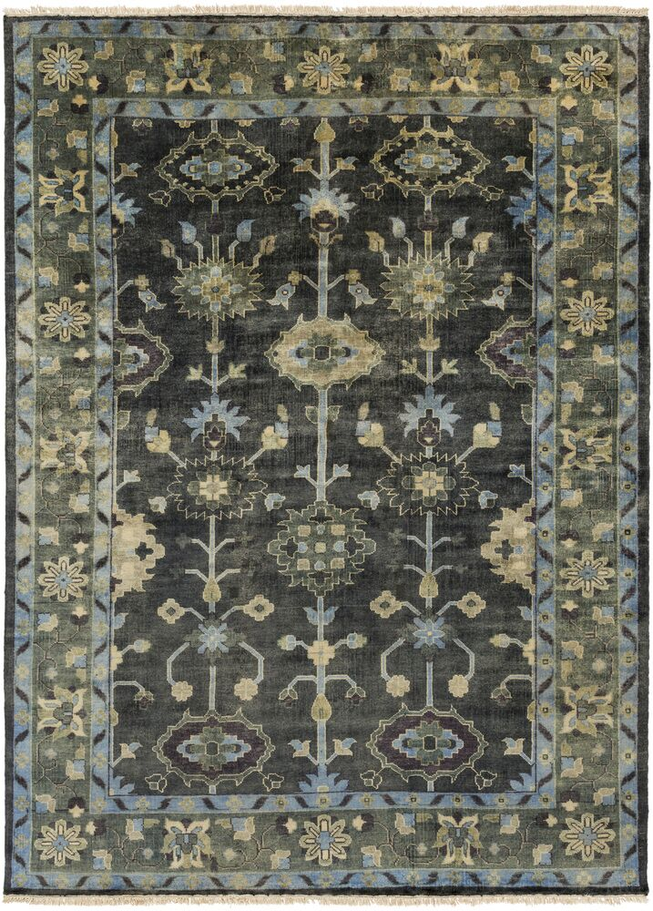 Kangley Area Rug Rug Size: 5'6