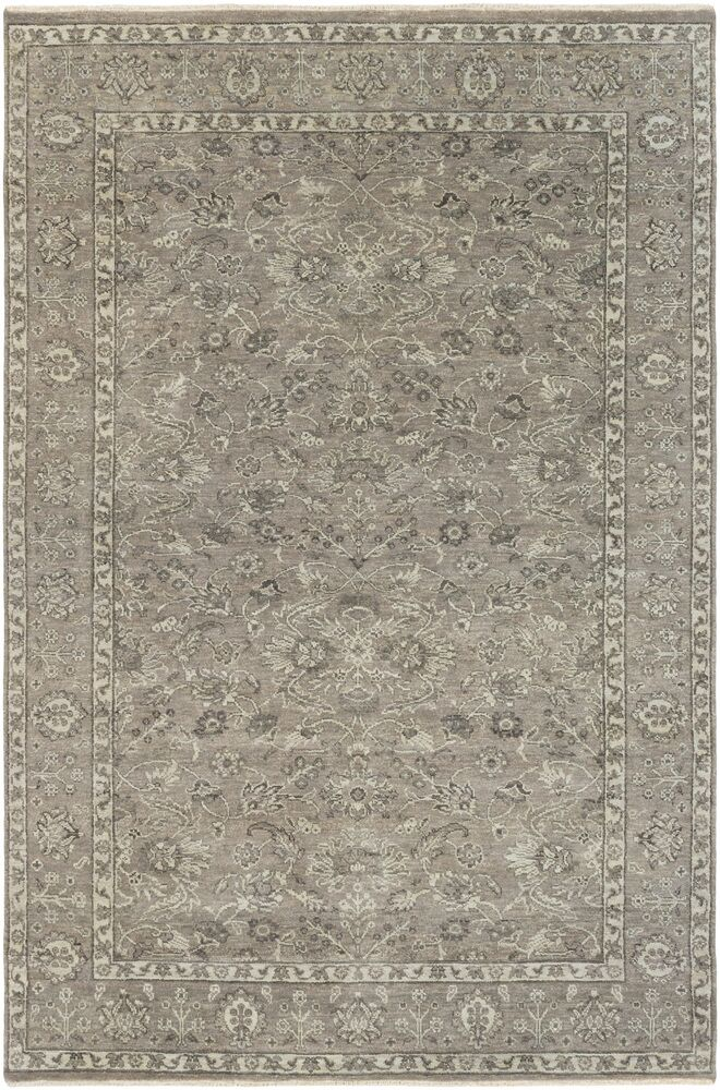 Naelle Hand-Knotted Area Rug Rug Size: 9' x 12'