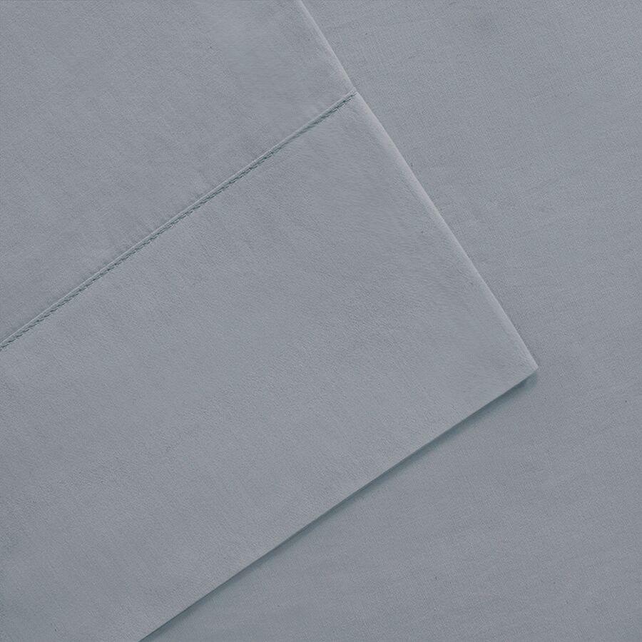 Moffett 300 Thread Count Pima Cotton Sheet Set Size: Full, Color: Blue