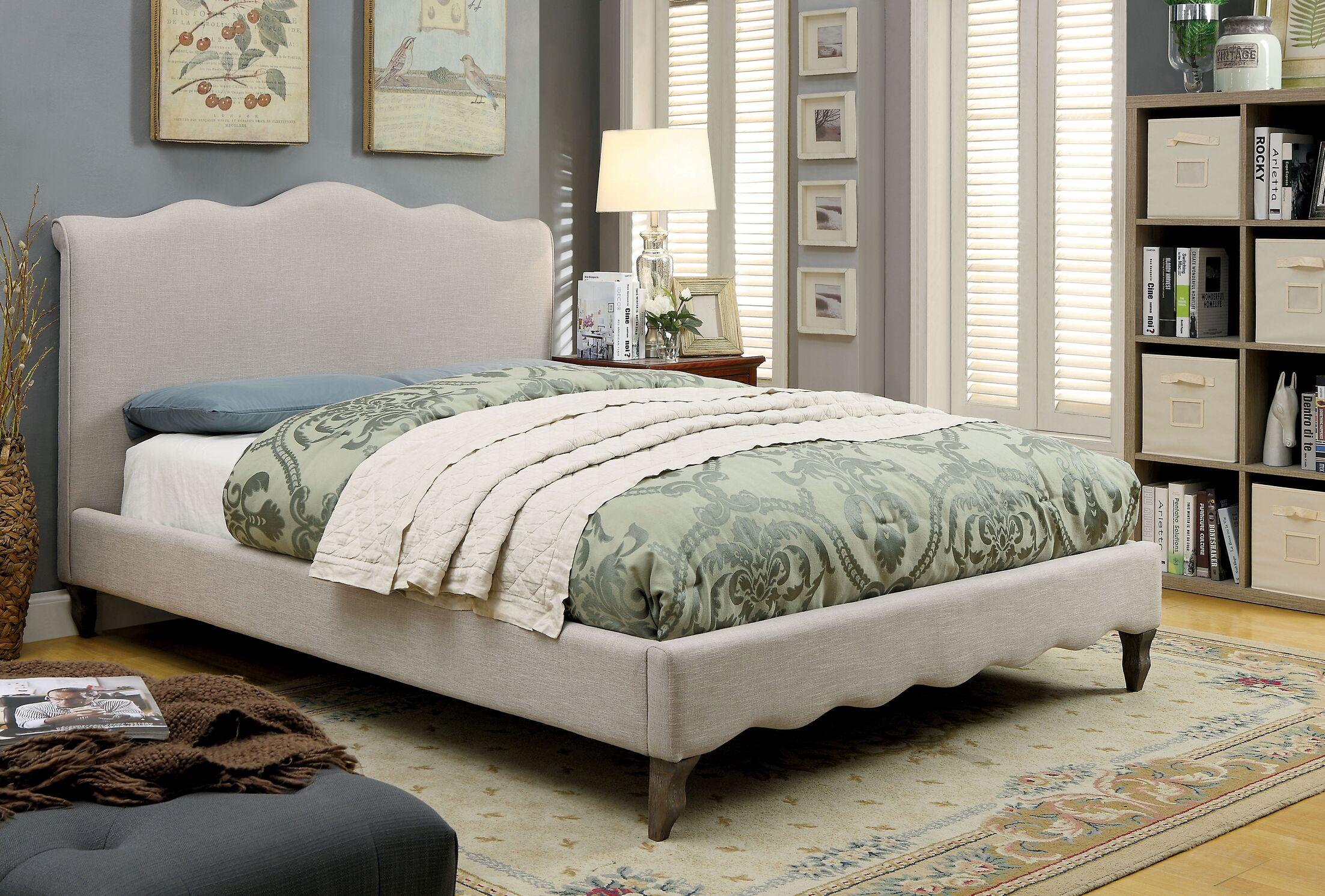Montcalm Upholstered Platform Bed