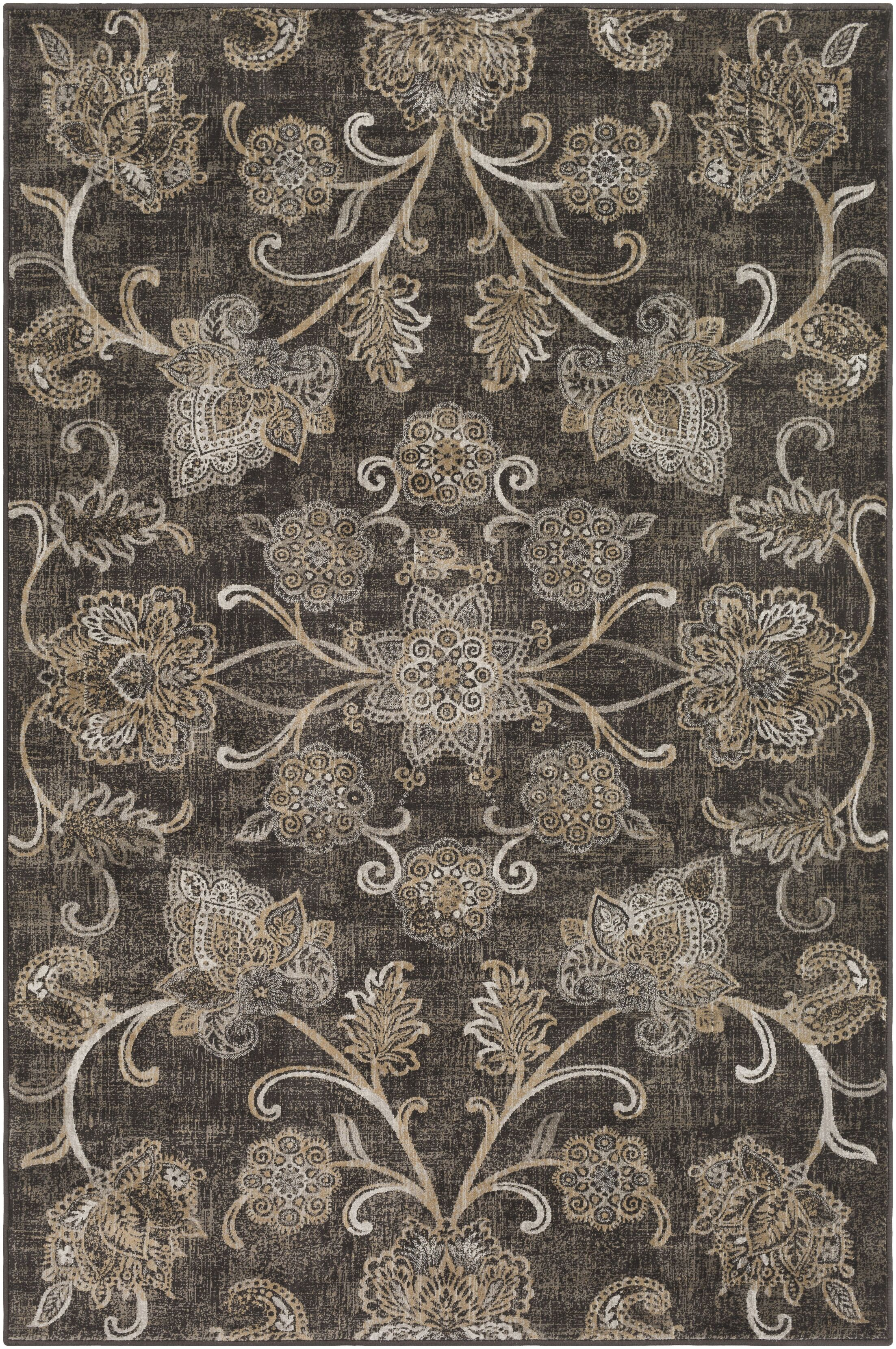 Blue Hill Brown Area Rug Rug Size: Rectangle 5' 3