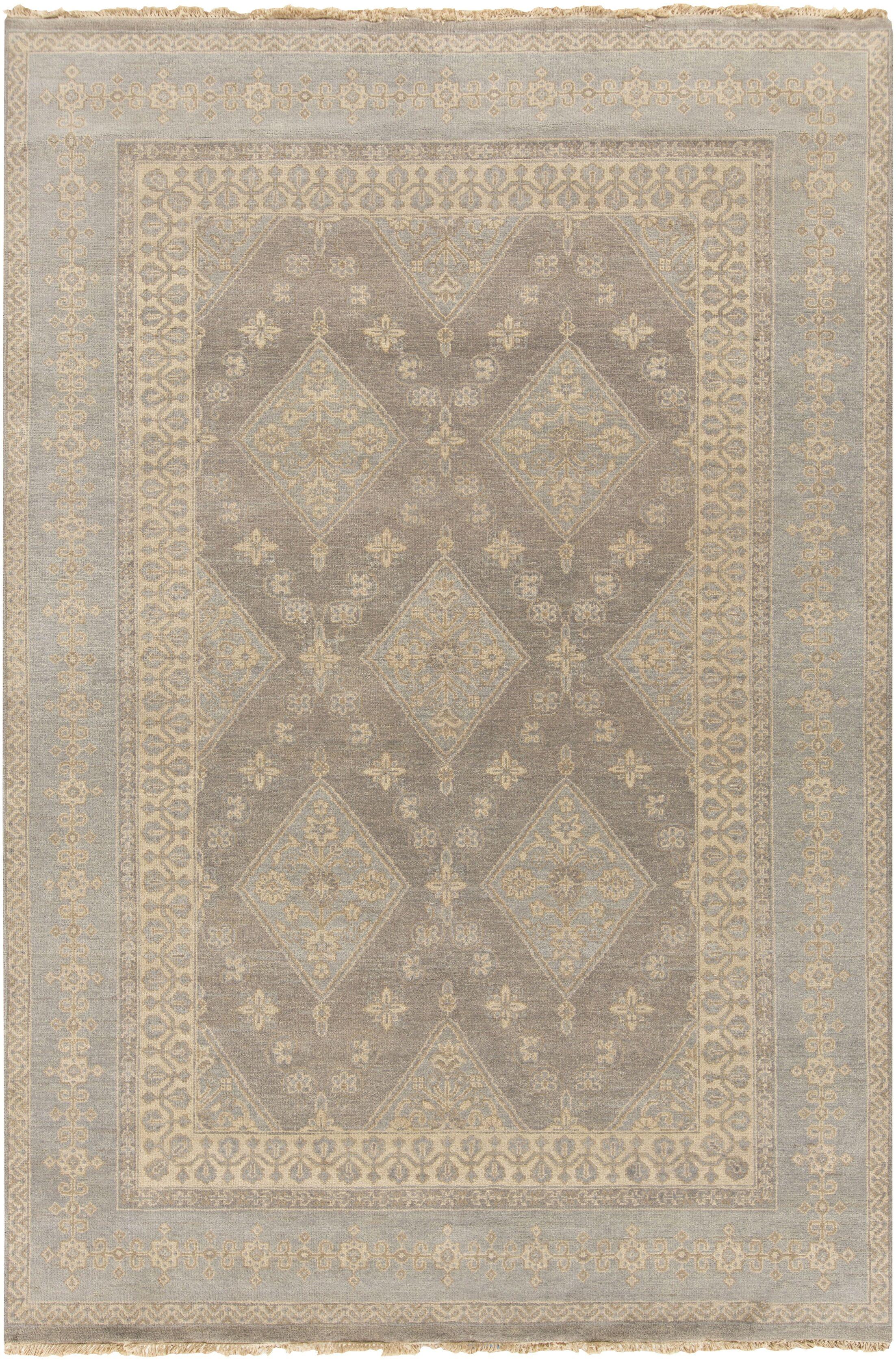 Otani Gray/Slate Rug Rug Size: Rectangle 2' x 3'