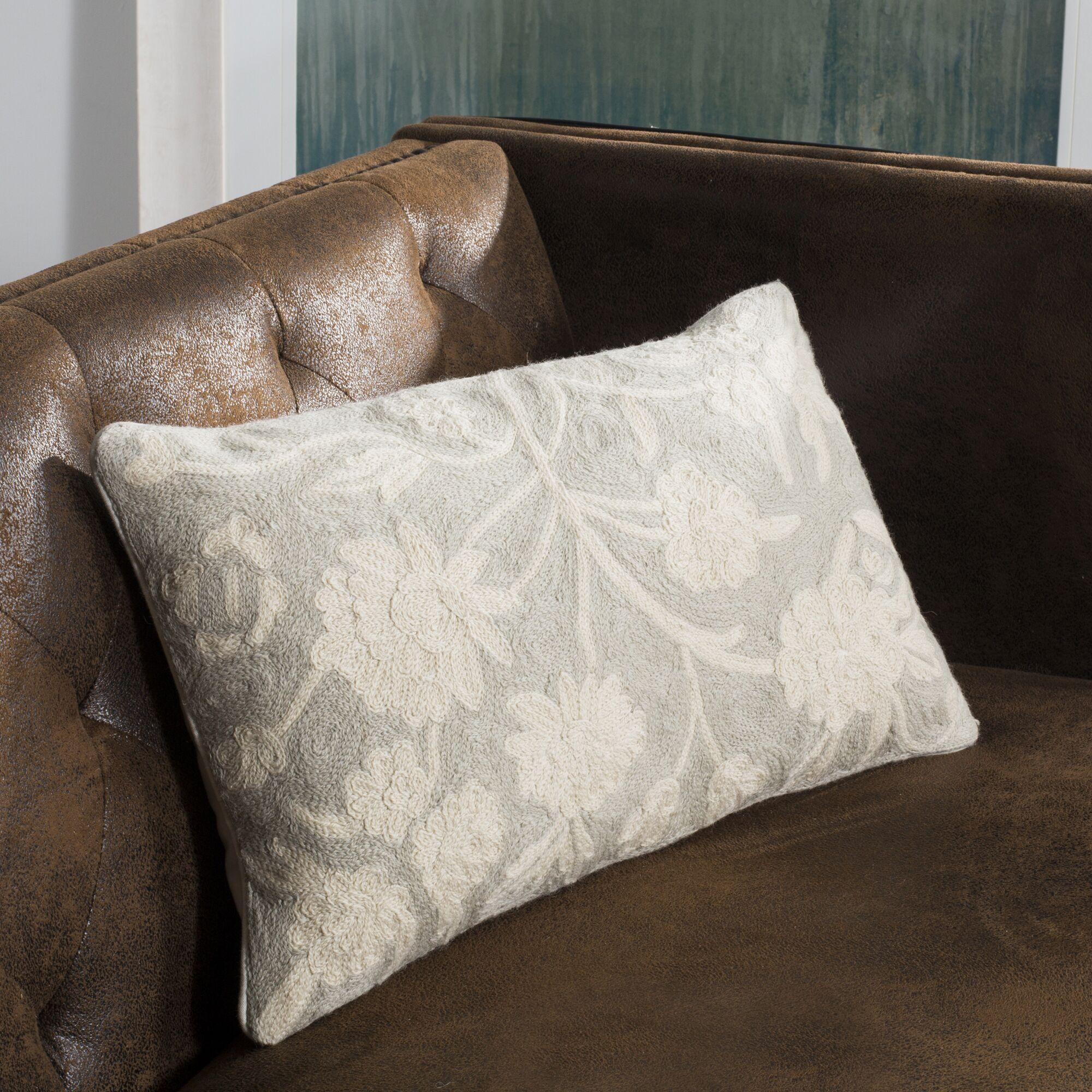 Vannes Wool Throw Pillow