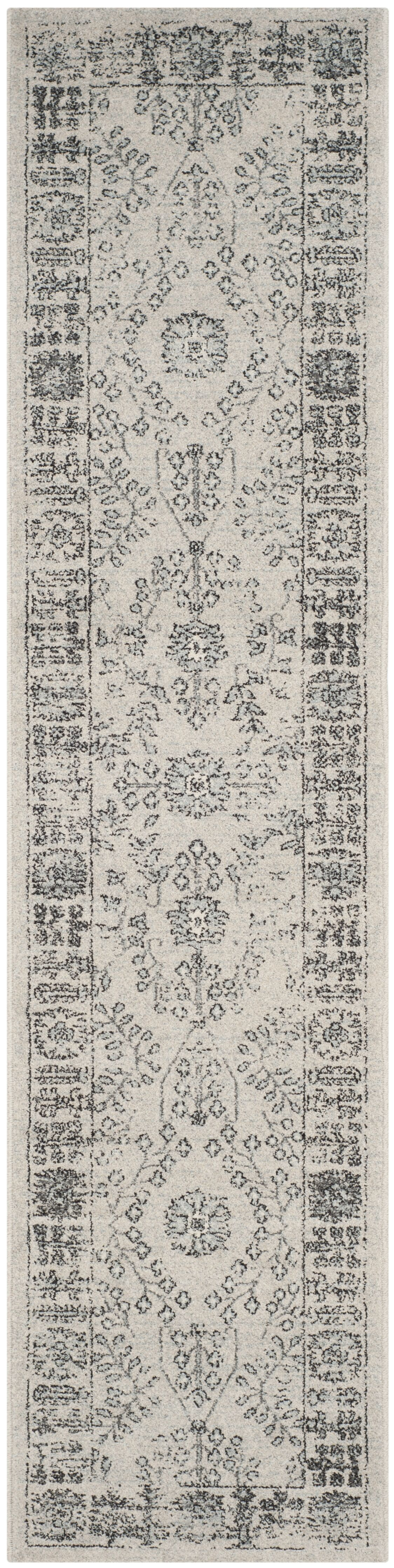 Harwick Beige and Blue Area Rug Rug Size: Runner 2' x 10'