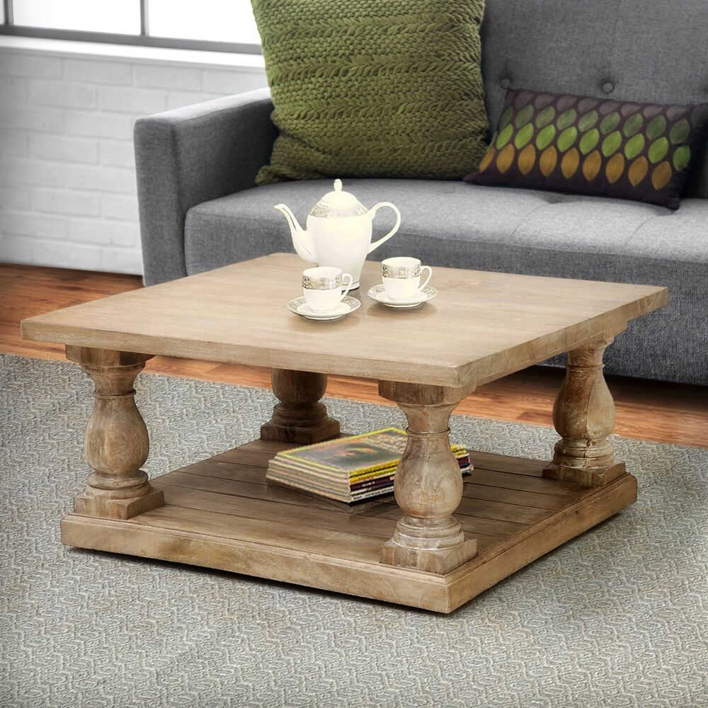 Hazel Pedestal Coffee Table