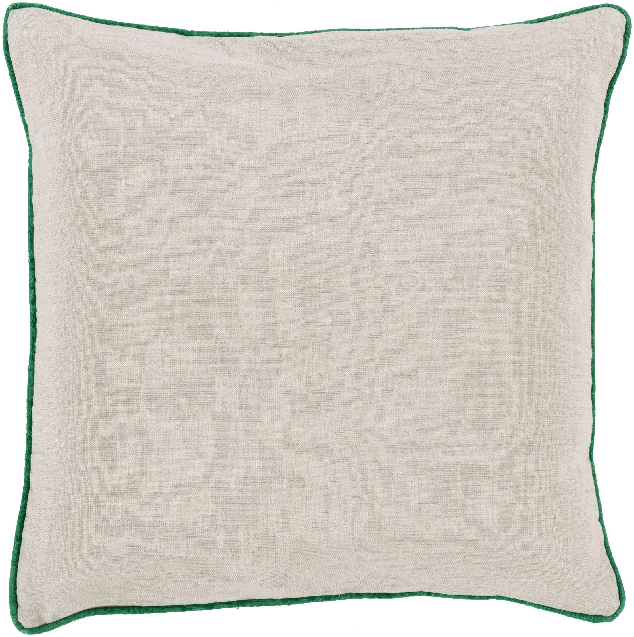 Franklin Linen Throw Pillow Size: 18