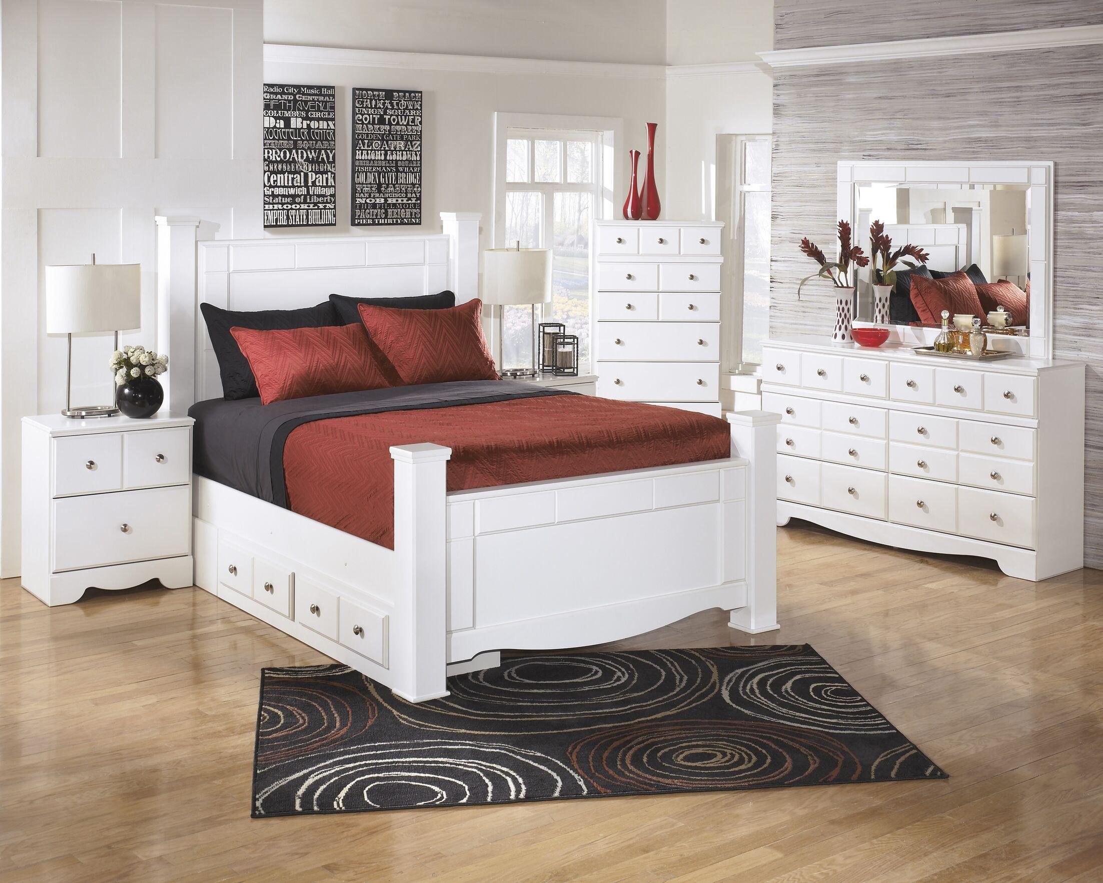 Carrabassett Panel Configurable Bedroom Set