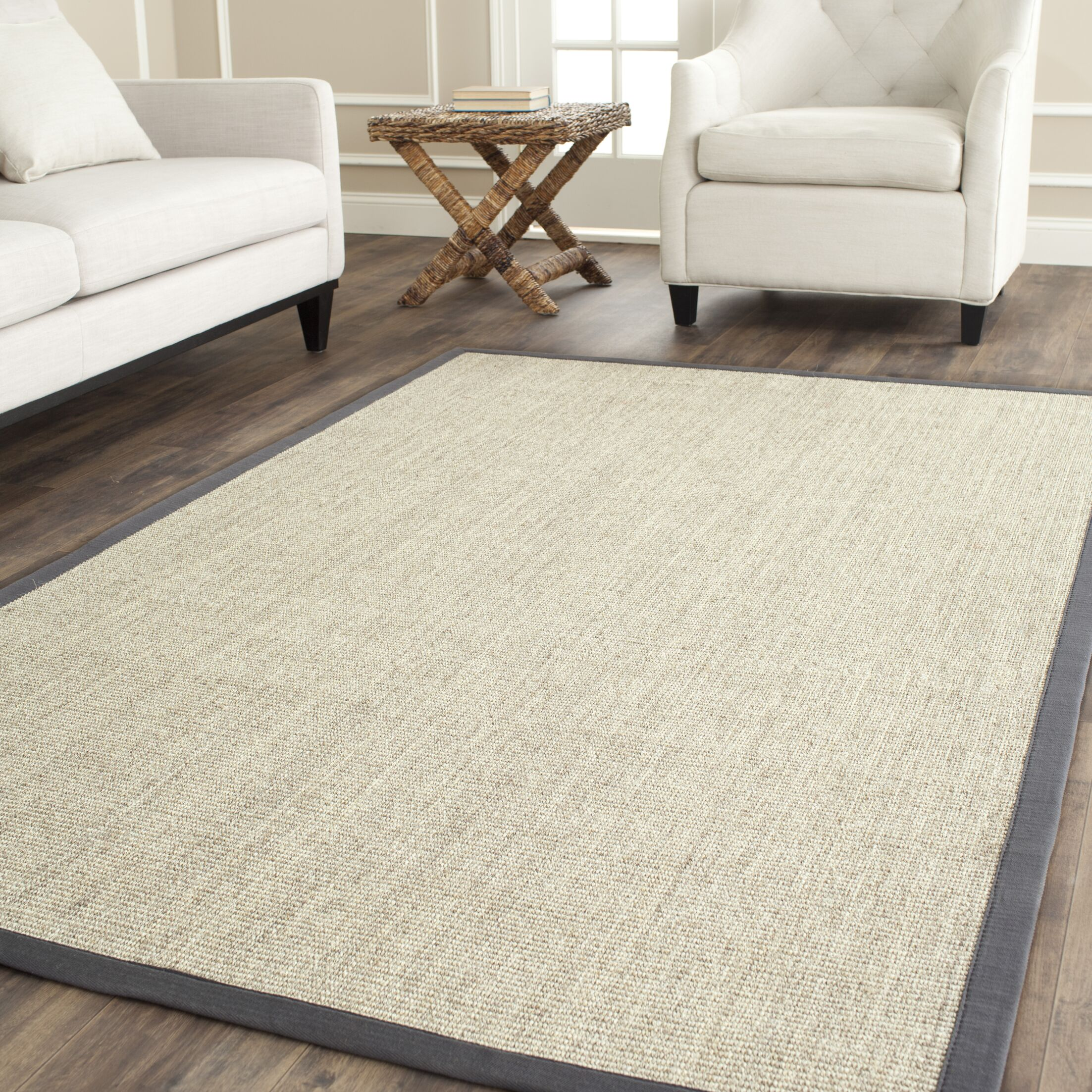 Liviana Beige Area Rug Rug Size: Rectangle 6' x 9'