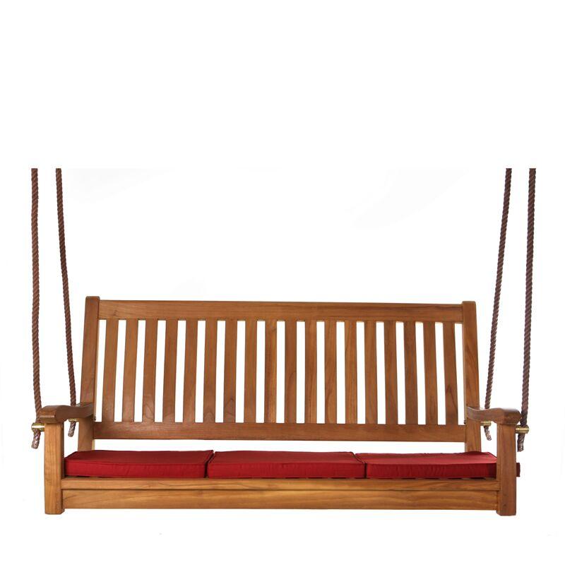 Humphrey Indoor/Outdoor Bench Cushion Color: Green