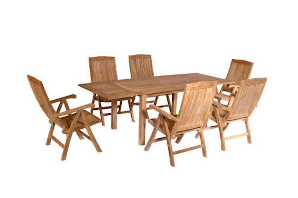 Farnam 7 Piece Teak Dining Set