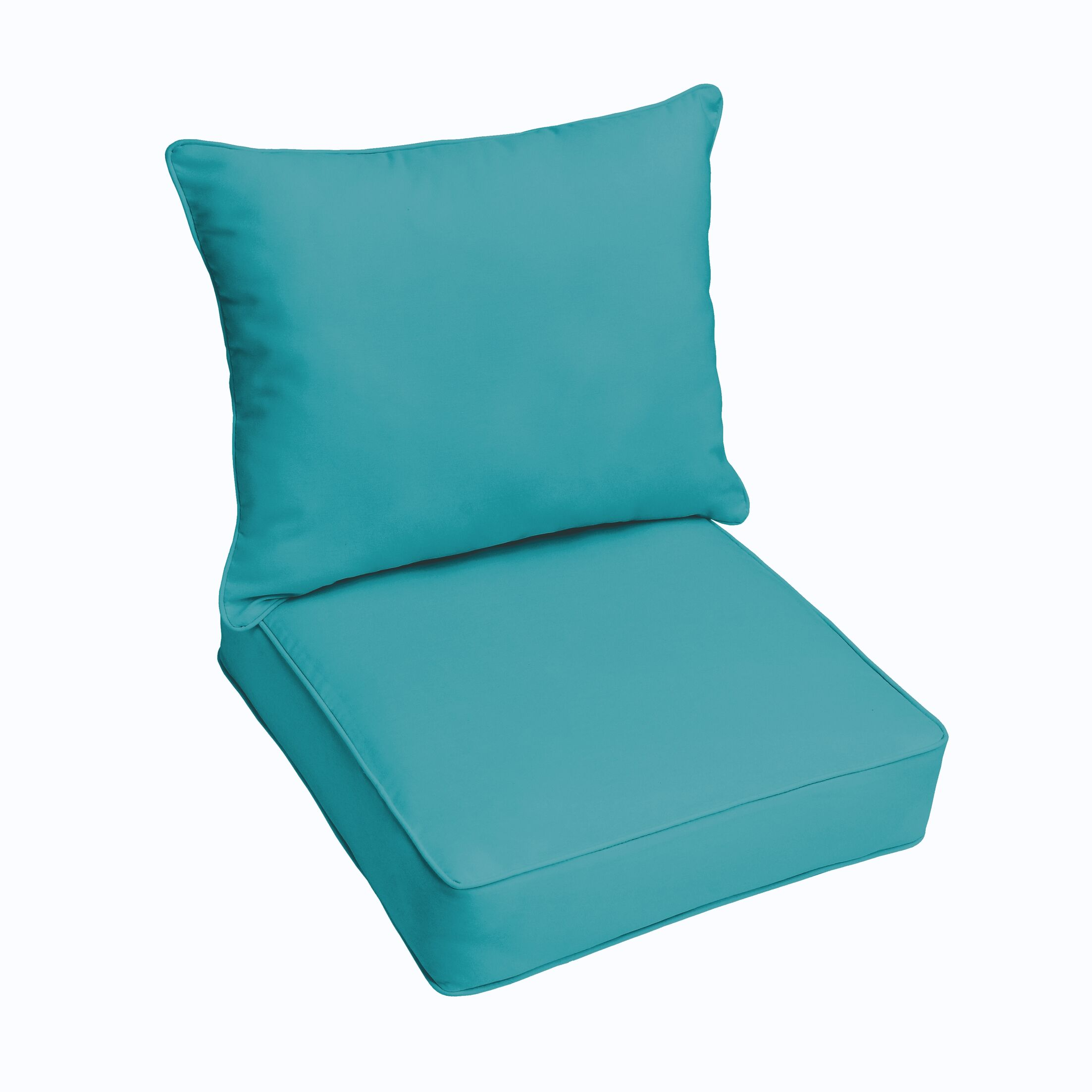 Indoor/Outdoor Sunbrella Lounge Chair Cushion Color: Dupione Laurel