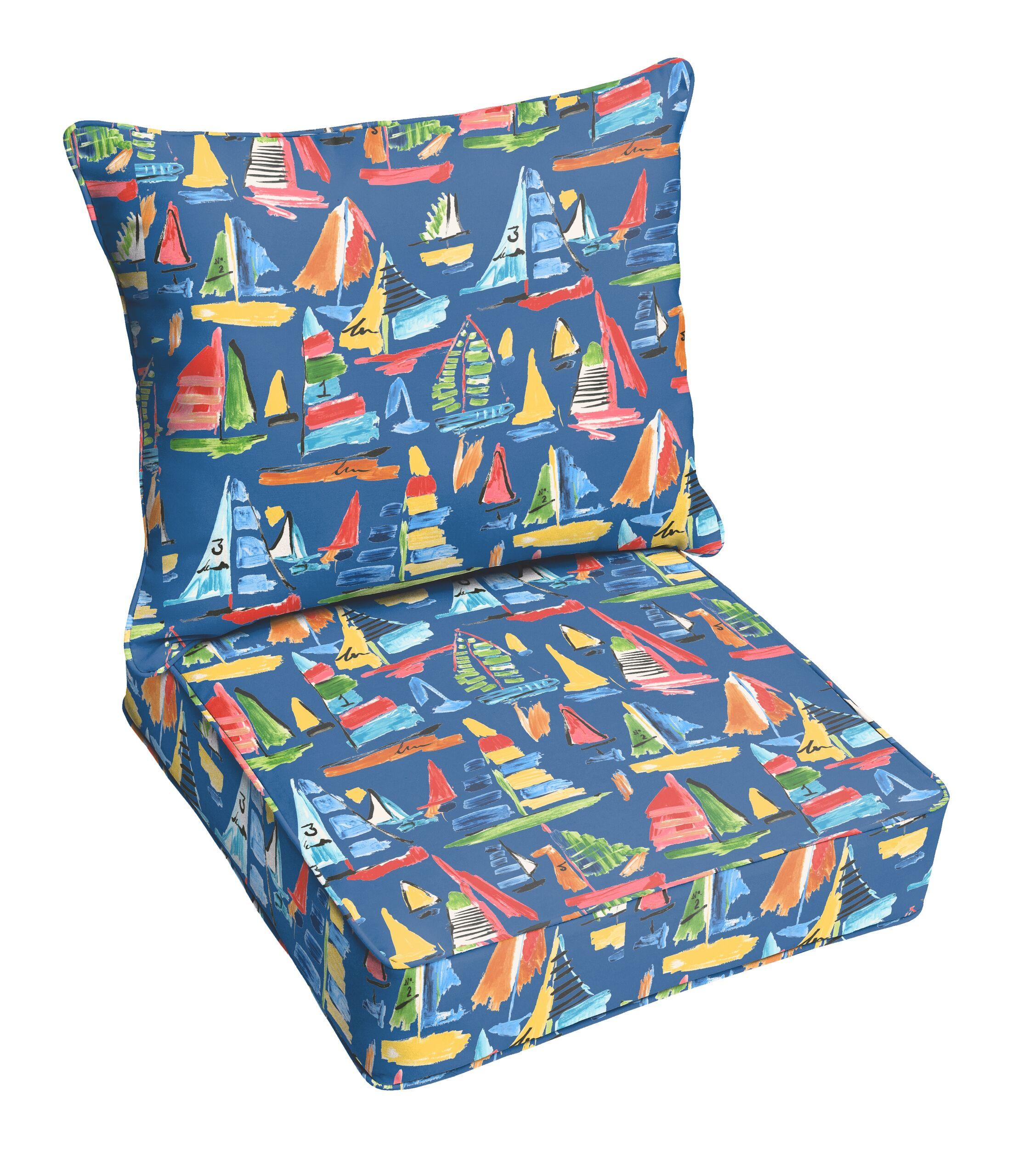 Wallon Indoor/Outdoor Lounge Chair Cushion