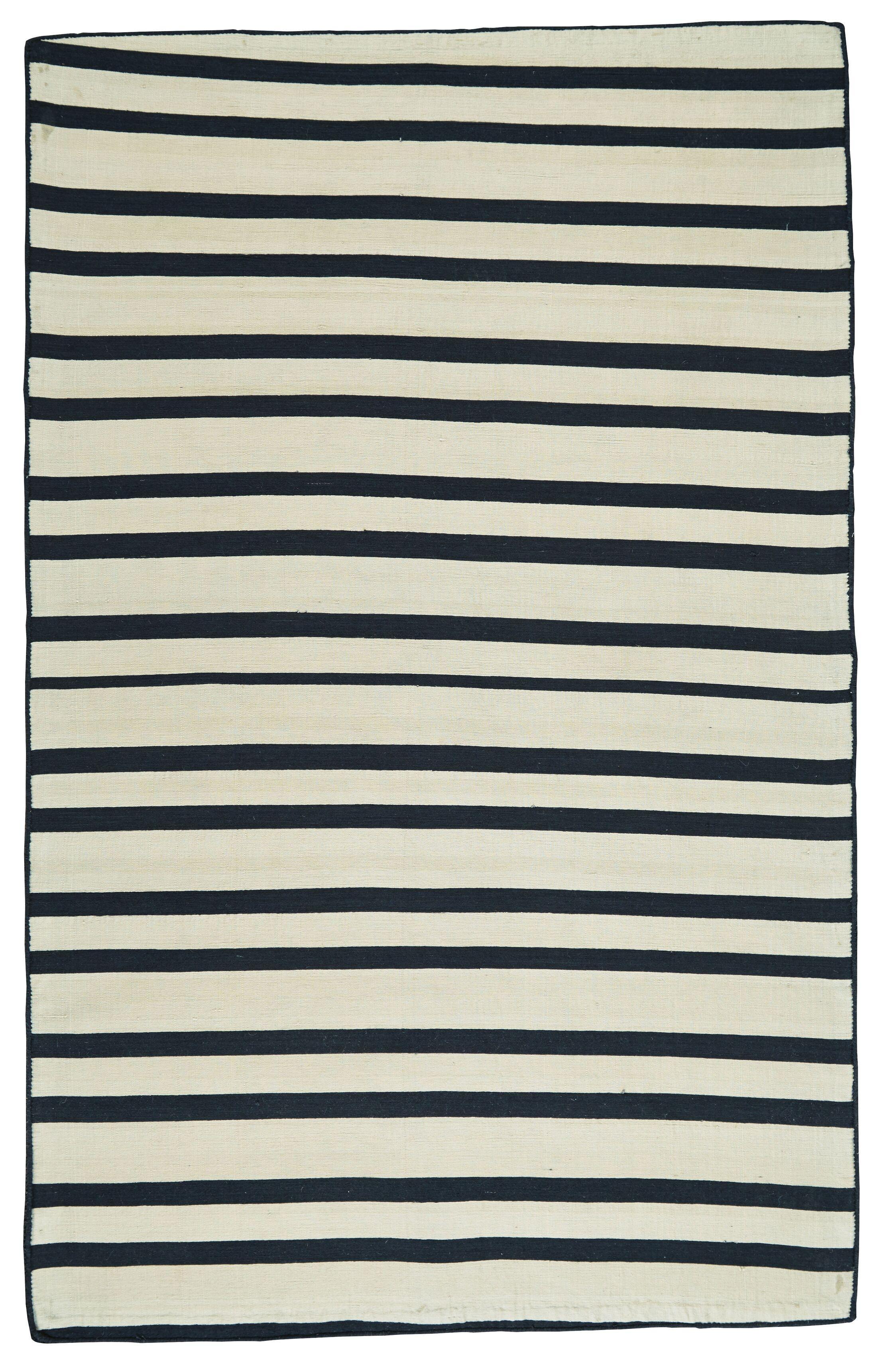 Jolie Hand Loomed Midnight Indoor/Outdoor Area Rug Rug Size: Rectangle 8' x 11'