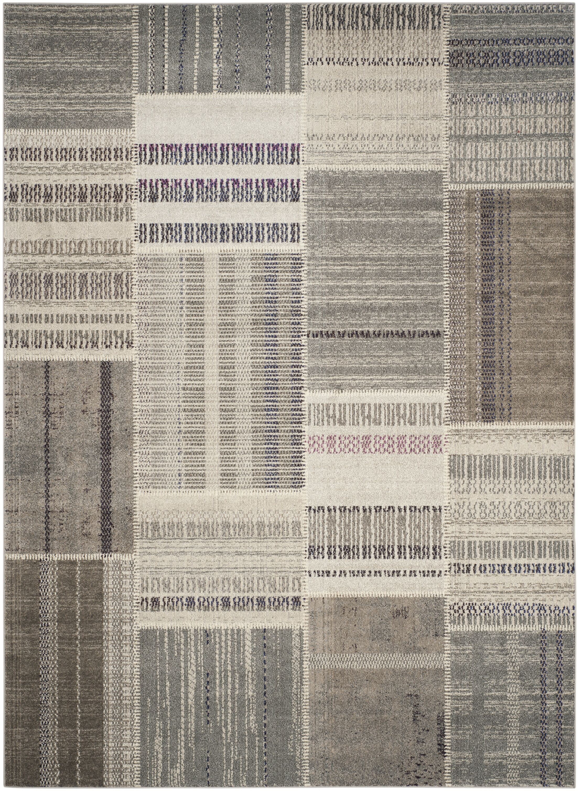 Tucker Madera Gray Area Rug Rug Size: Rectangle 8' x 11'