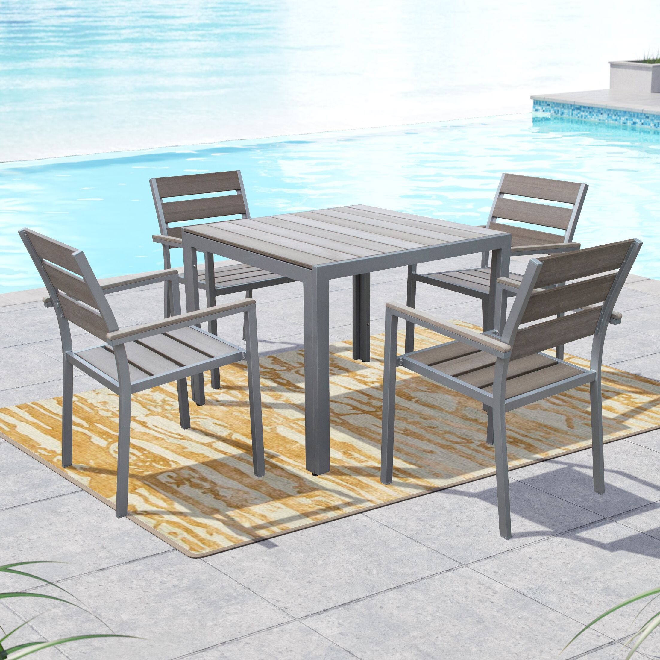Allen 5 Piece Dining Set