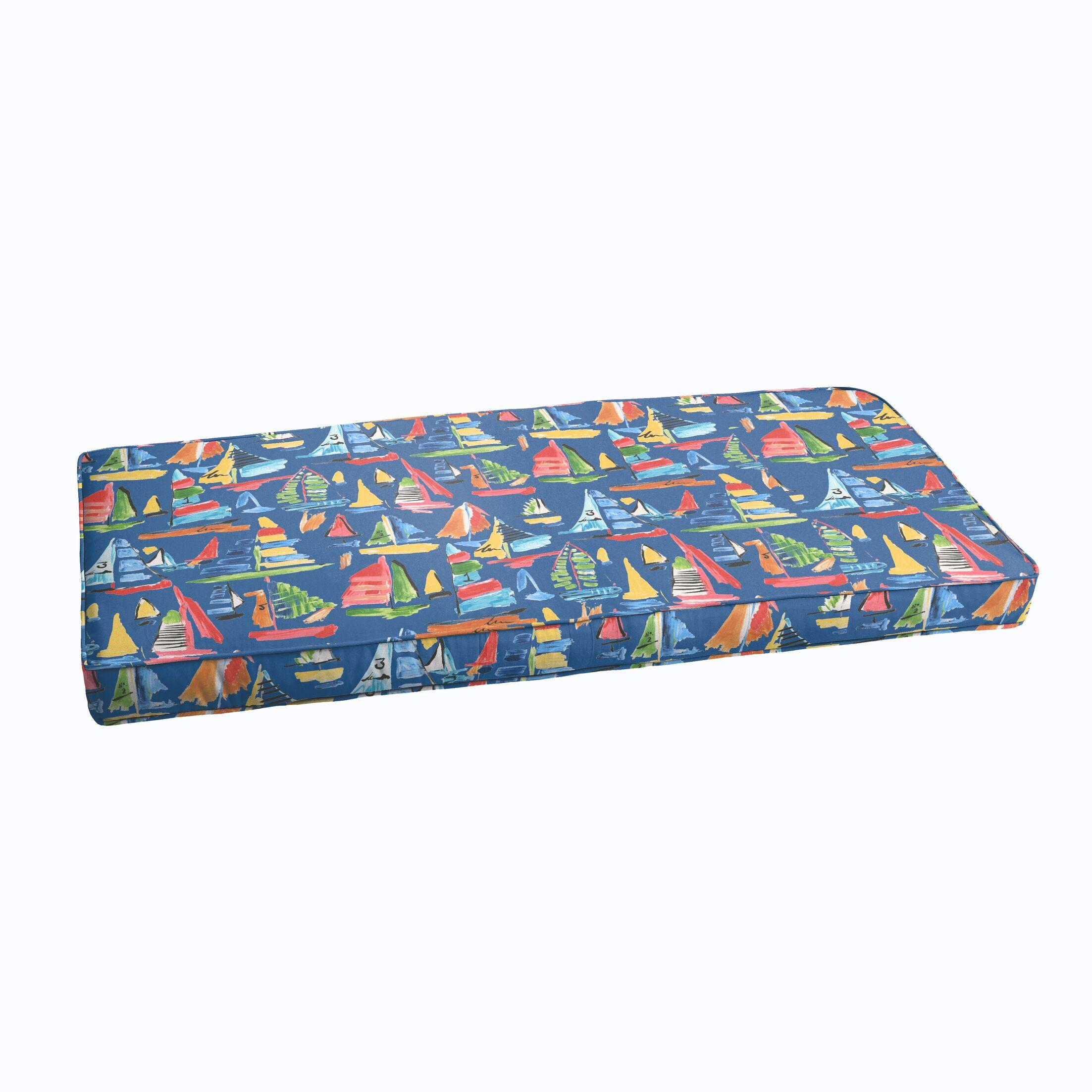 Wallon Indoor/Outdoor Bench Cushion Size: 48
