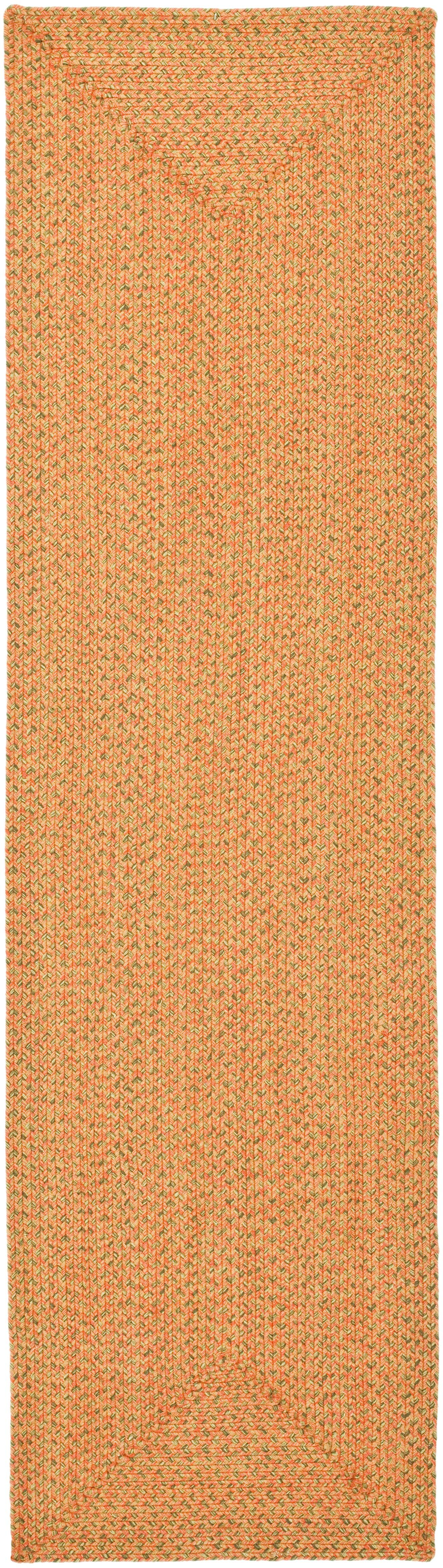 Woodlawn Hand Woven Beige/Orange Area Rug Rug Size: Runner 2'3