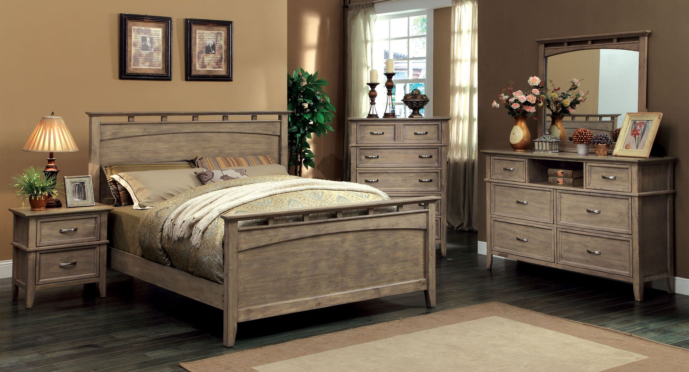 Cartwright Panel Configurable Bedroom Set