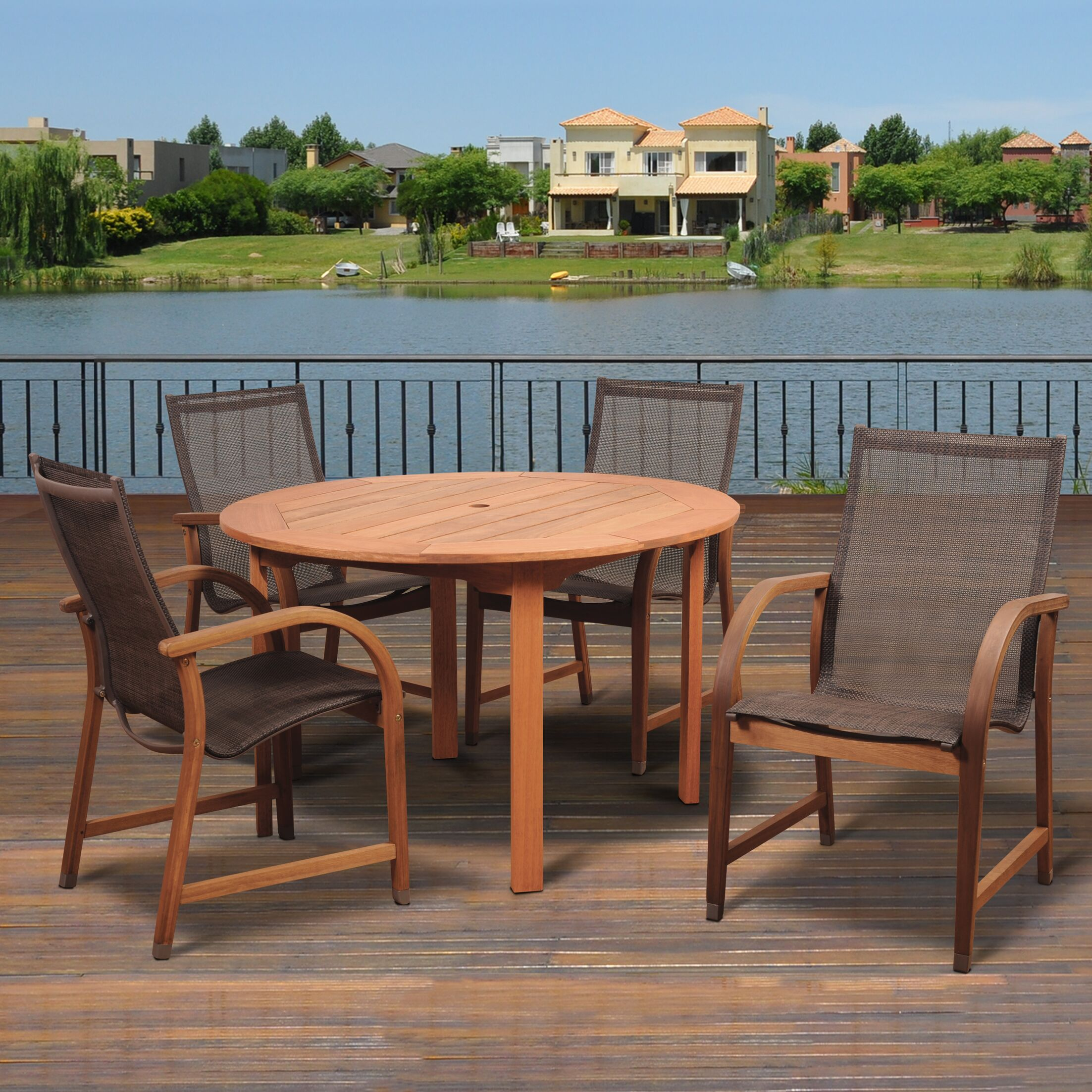 Ely 5 Piece Dining Set