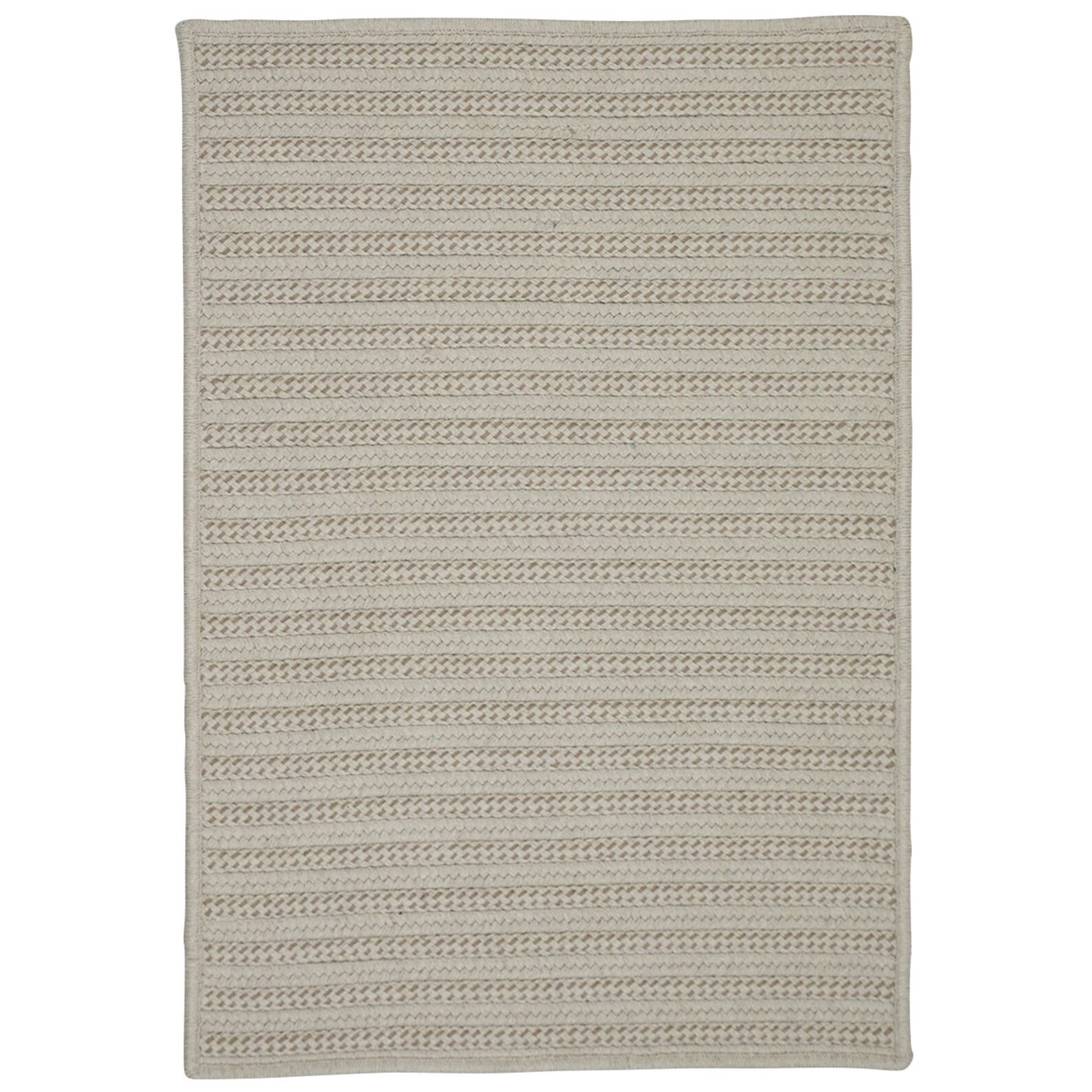 Tidewater Hand-Woven Natural Indoor/Outdoor Area Rug Rug Size: 8' x 10'