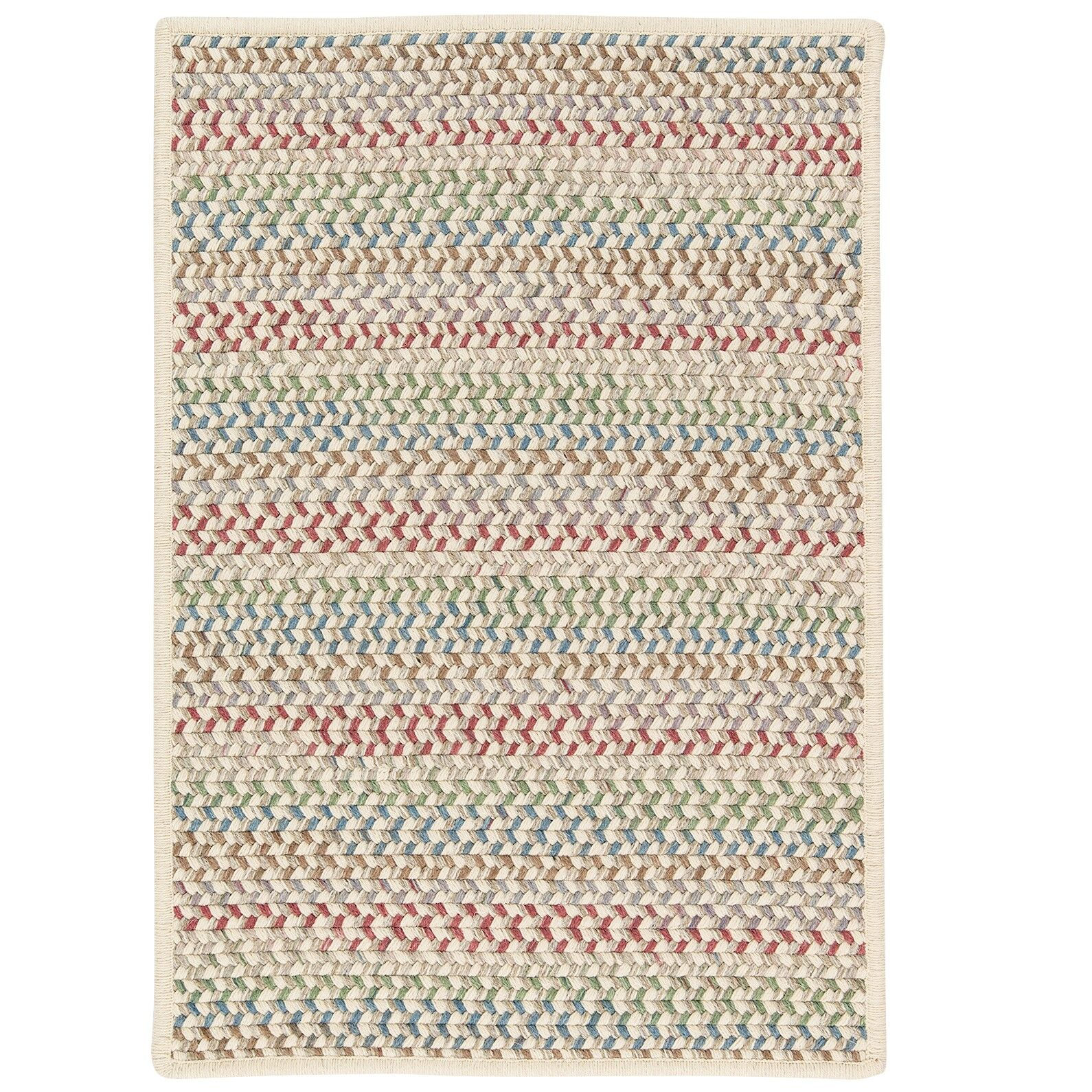 Arvie Hand-Woven Red/Green Area Rug Rug Size: Runner 2' x 6'
