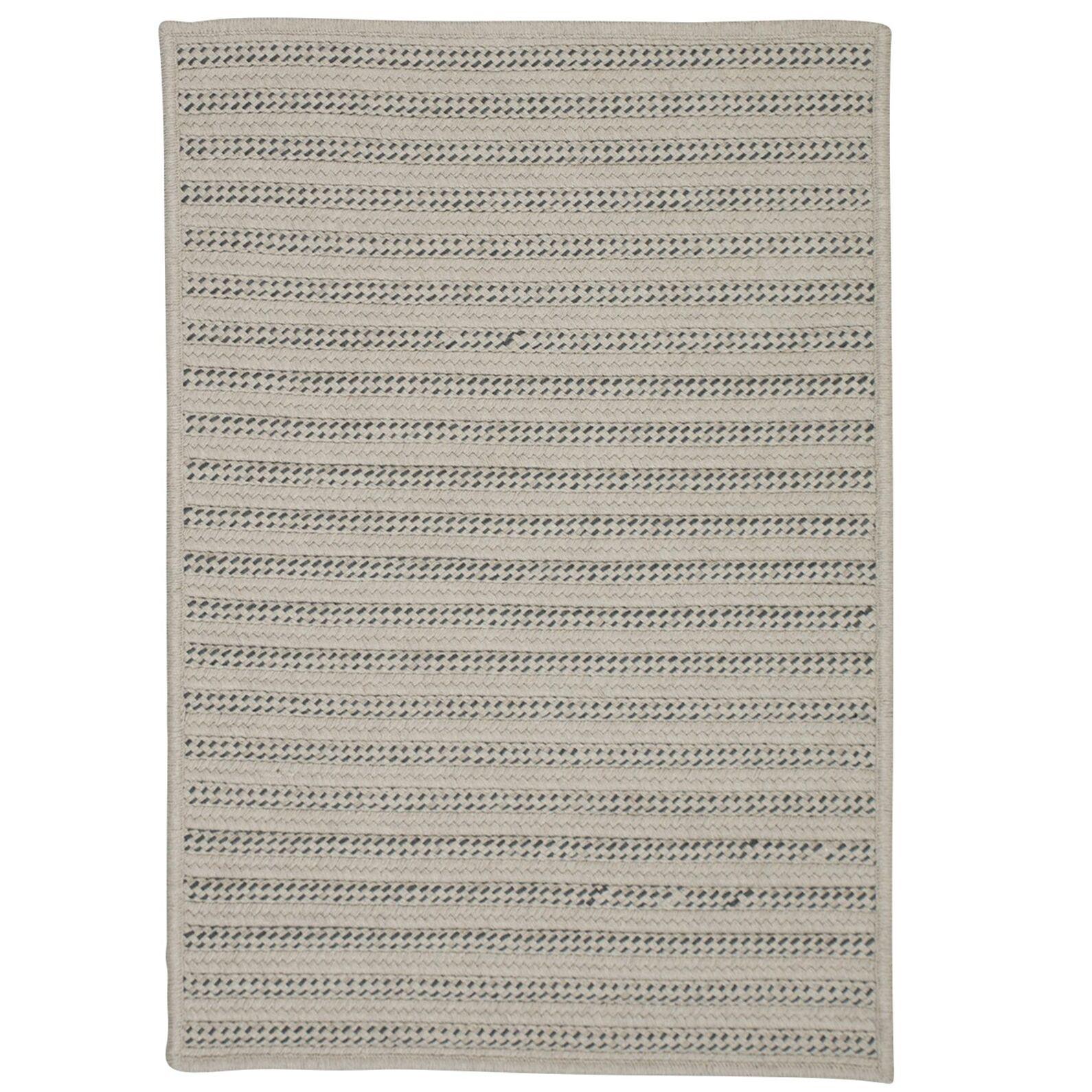 Tidewater Reversible Hand-Woven Natural Indoor/Outdoor Area Rug Rug Size: 6' x 9'