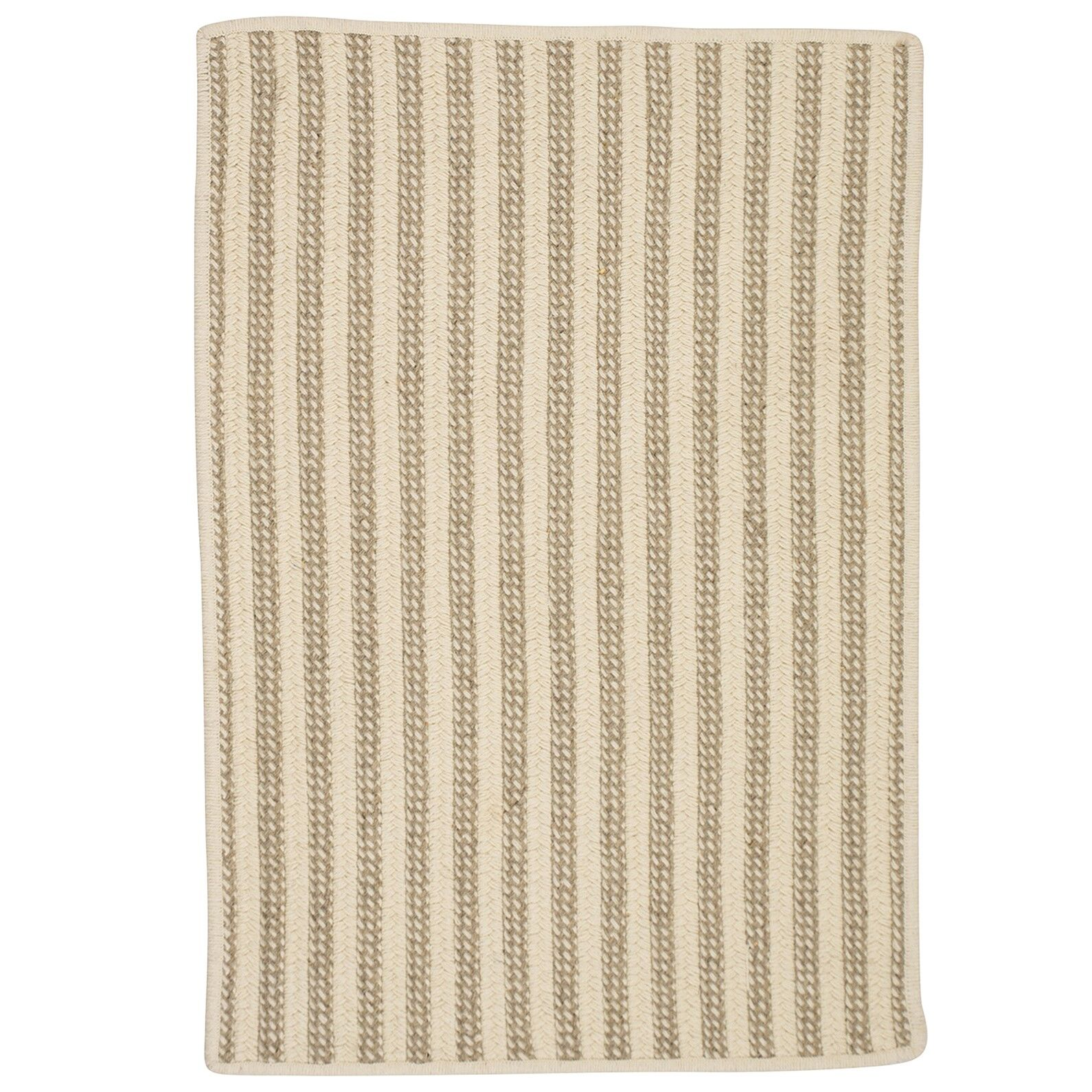 Cadenville Hand-Woven Natural Area Rug Rug Size: Rectangle 3' x 5'