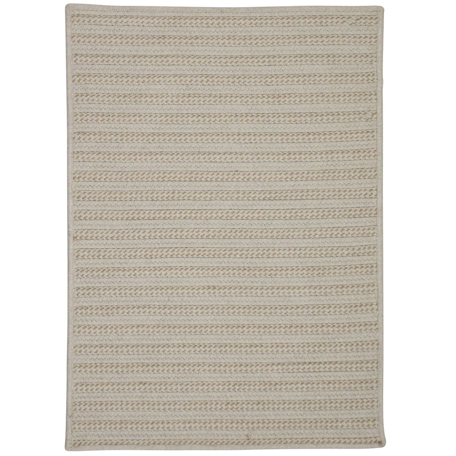 Tidewater Water Resistant Hand-Woven Natural Area Rug Rug Size: 5' x 7'