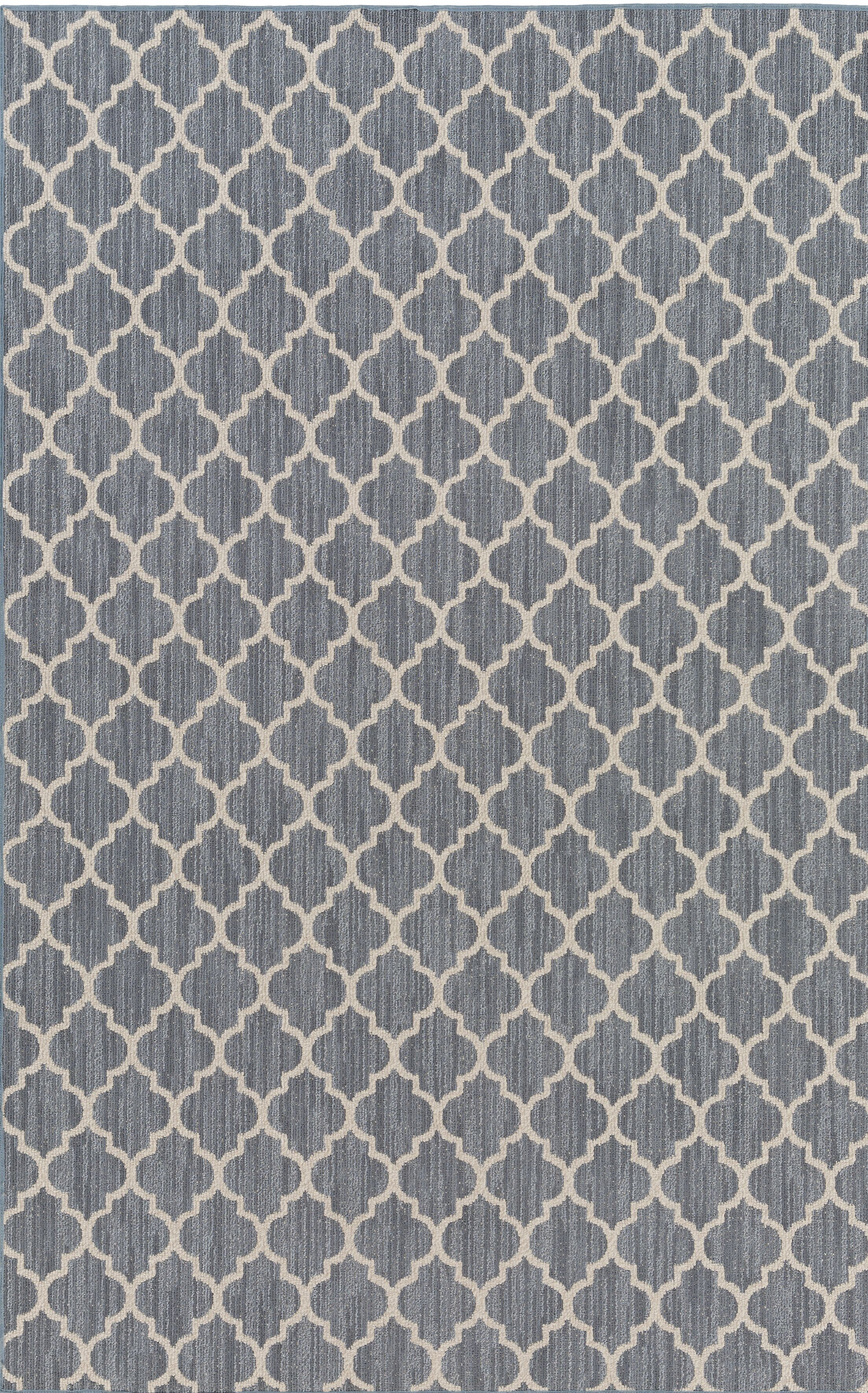 Chesterville Gray/Beige Area Rug Rug Size: Rectangle 4' x 6'
