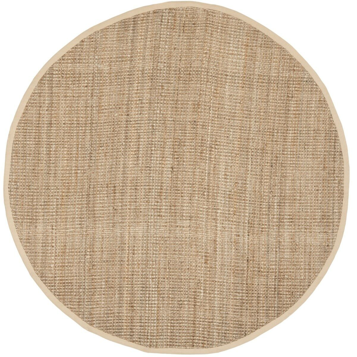 Calidia Hand-Loomed Beige Area Rug Rug Size: Rectangle 8' x 10'
