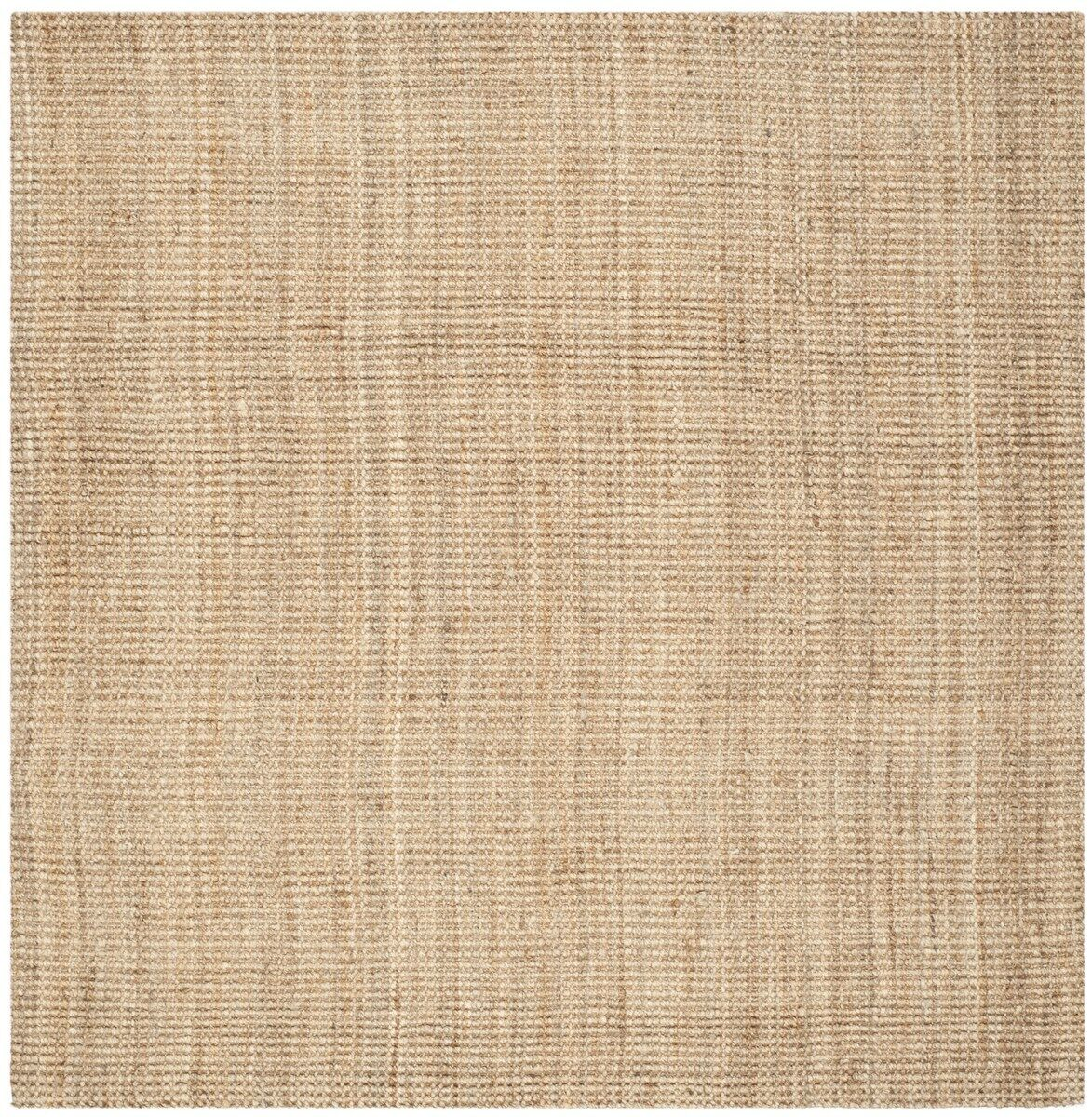 Calidia Hand-Loomed Beige Area Rug Rug Size: Square 7'