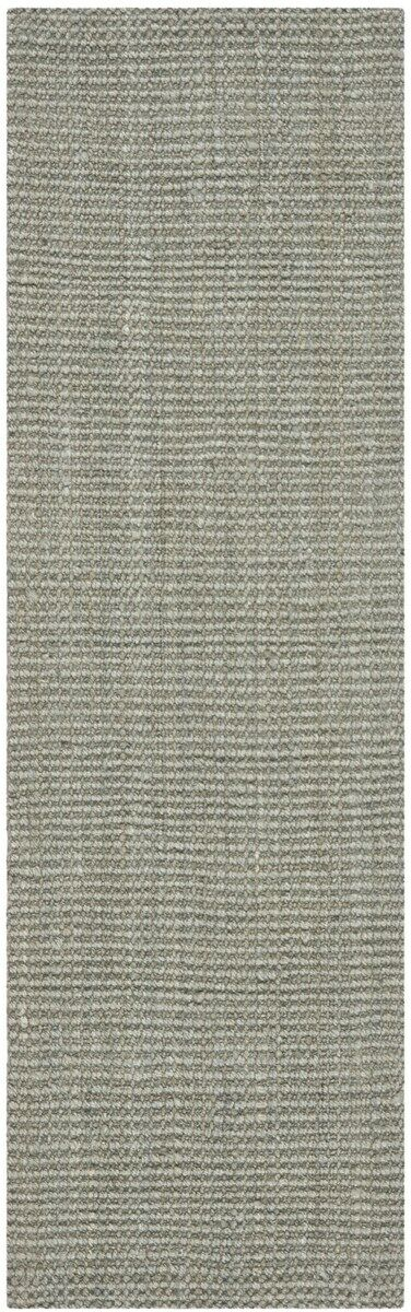 Calidia Hand-Loomed Gray Area Rug Rug Size: Runner 2'3
