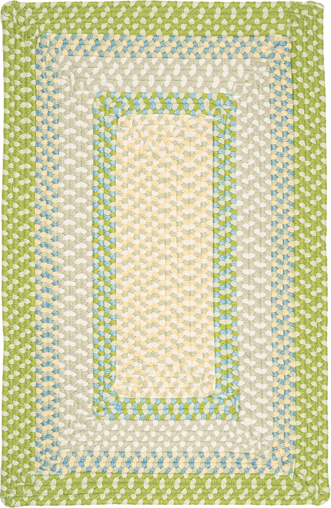 Marathovounos Lime Twist Kids Indoor/Outdoor Area Rug Rug Size: Rectangle 5' x 8'