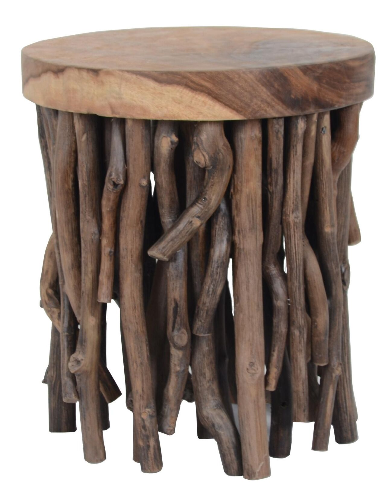 Kenia Wood End Table