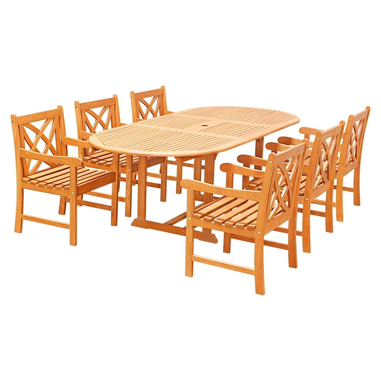 Lochmoor 7 Piece Dining Set
