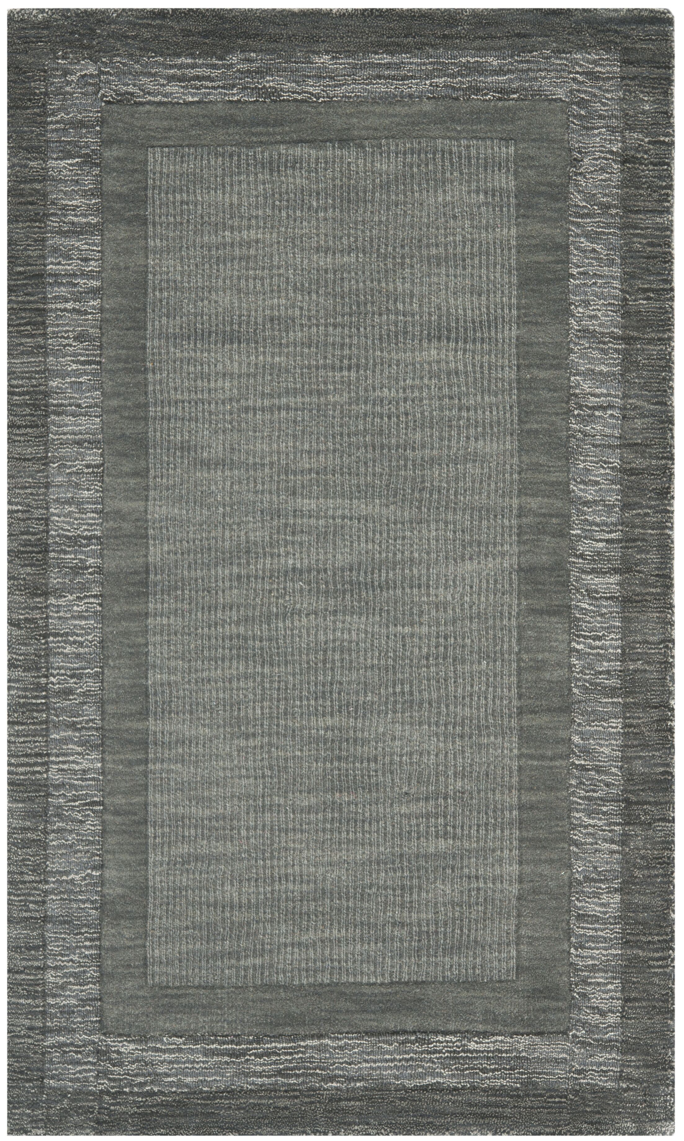 Frederica Dark Gray Area Rug Rug Size: Rectangle 5' x 8'