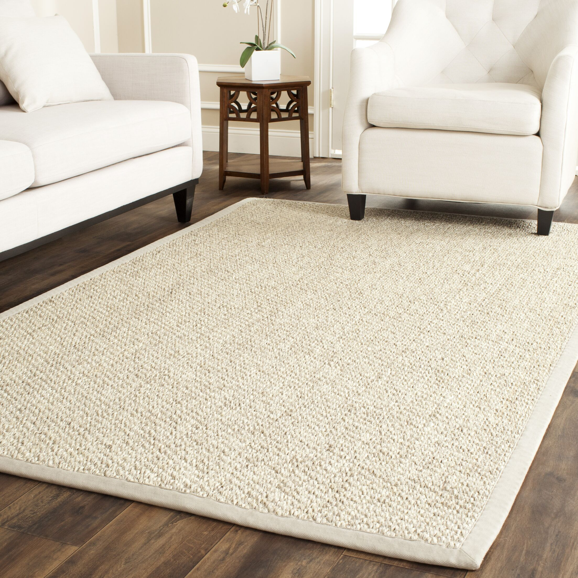 Richmond Faux Leather Brown Area Rug Rug Size: Rectangle 4' x 6'
