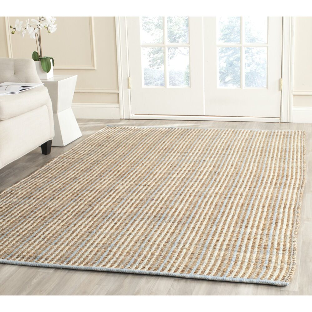 Abia Hand-Woven Natural Area Rug Rug Size: Rectangle 10' x 14'
