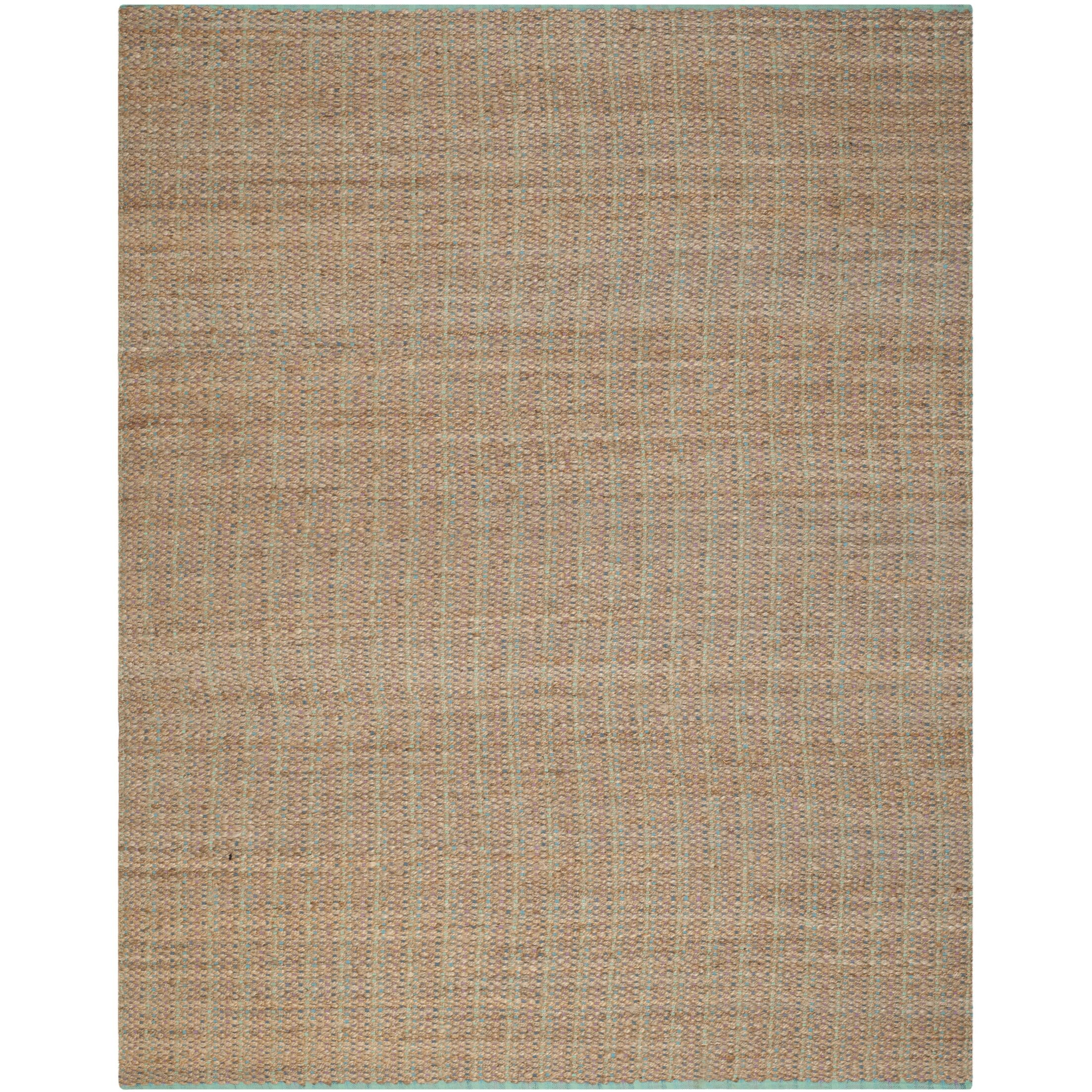 Abia Hand-Woven Cotton Tan Area Rug Rug Size: Rectangle 8' x 10'