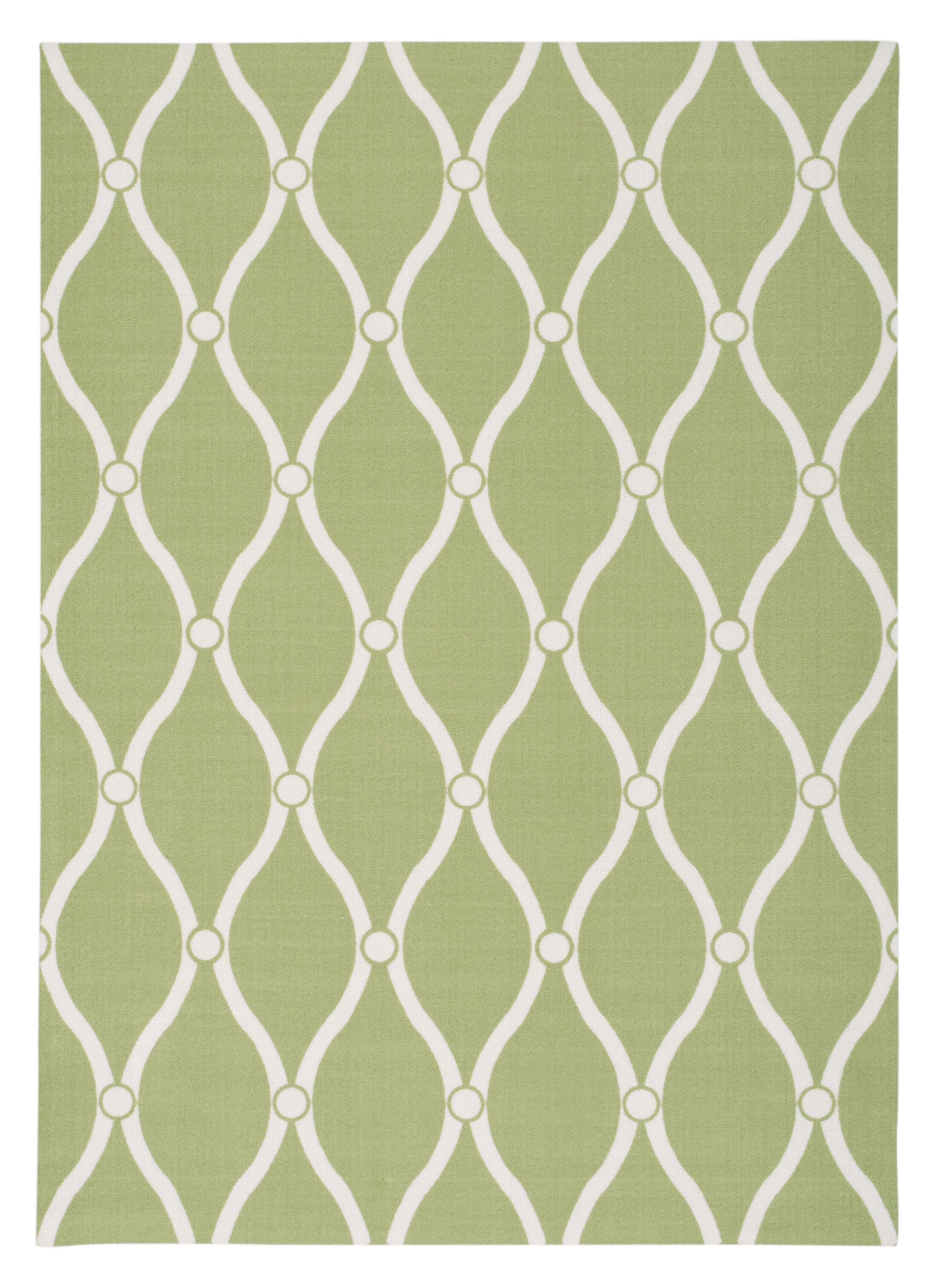 Astrid Green Rug Rug Size: Rectangle 10' x 13'