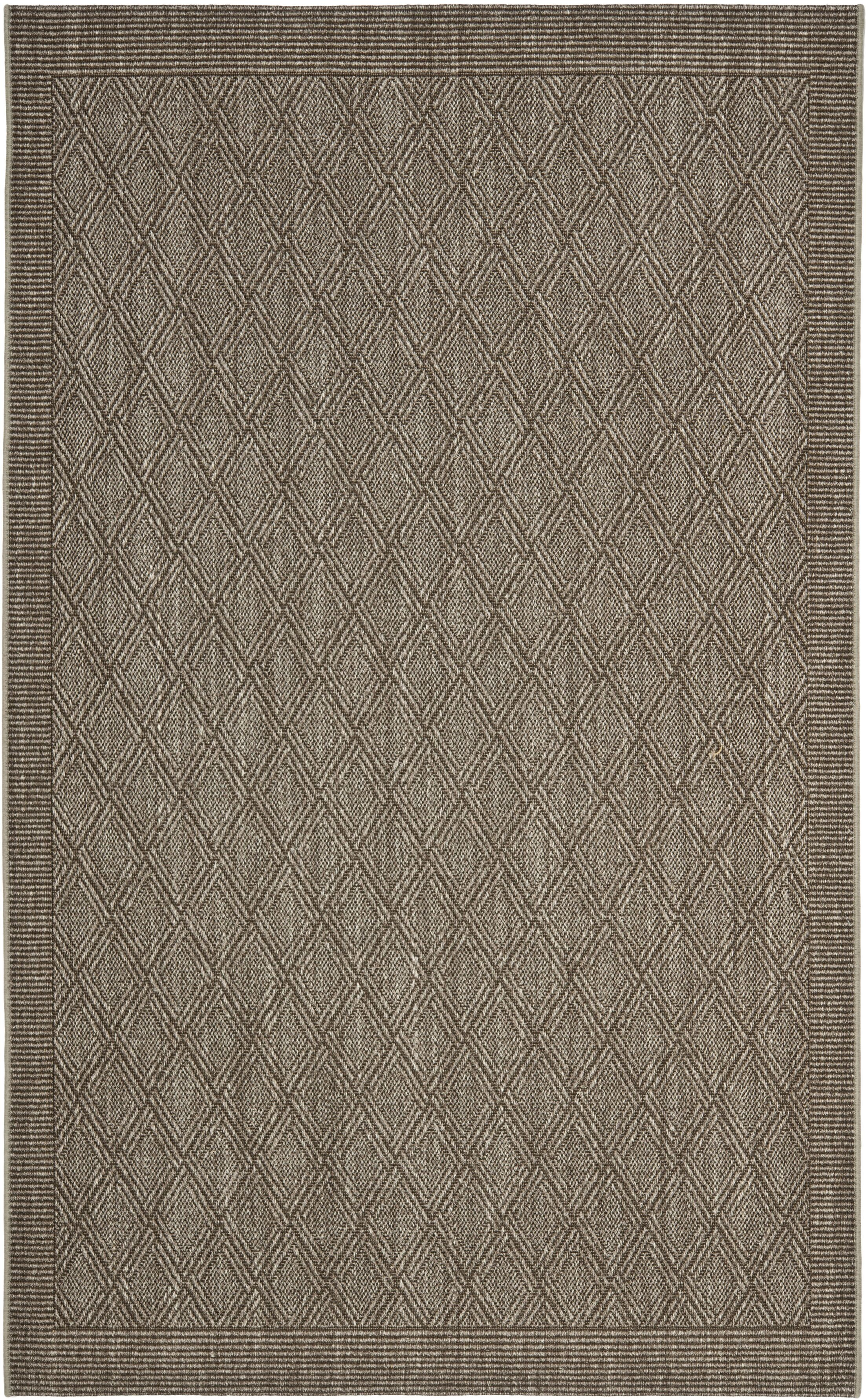Allegra Hand-Woven Silver Area Rug Rug Size: Rectangle 6' x 9'