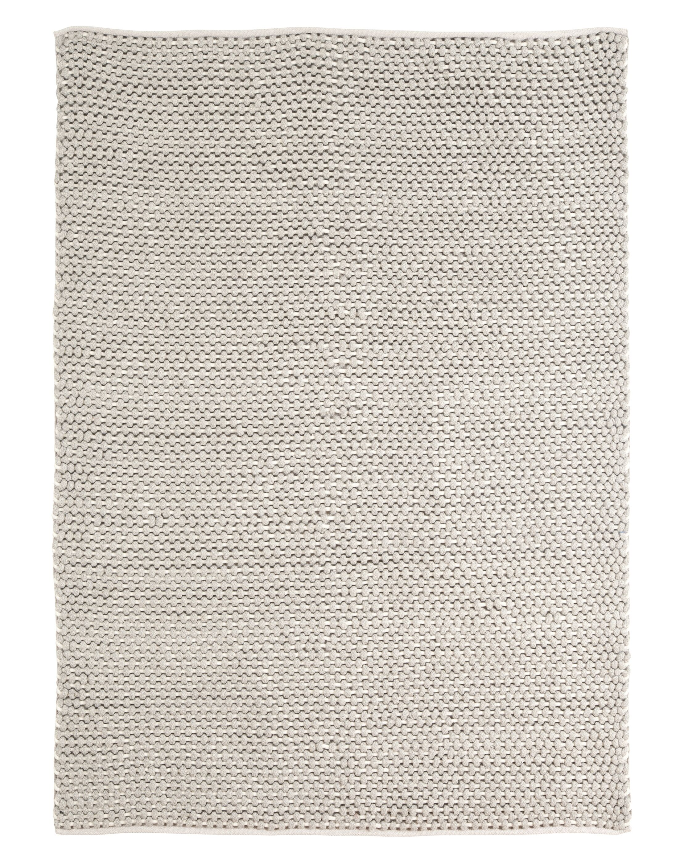Delmont Hand-Woven Wool Natural Area Rug Rug Size: Rectangle 8' x 11'