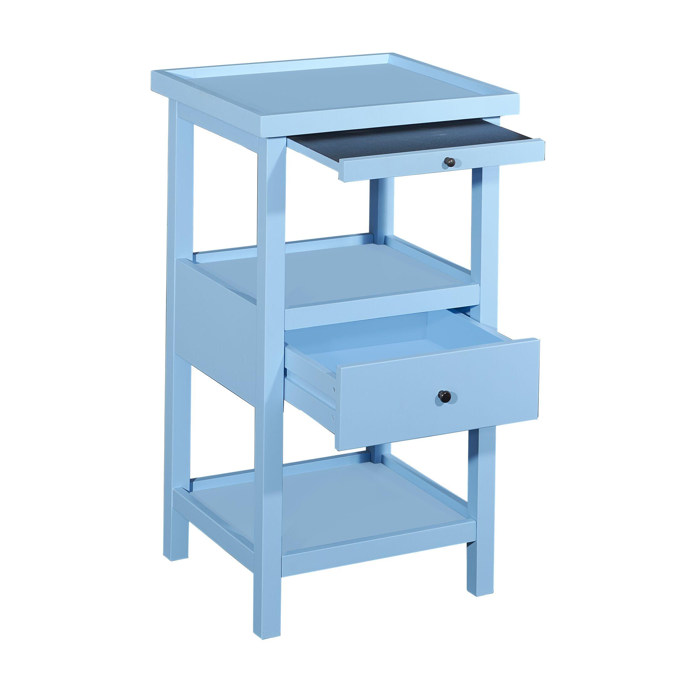 Merrimac End Table Color: Ocean Blue