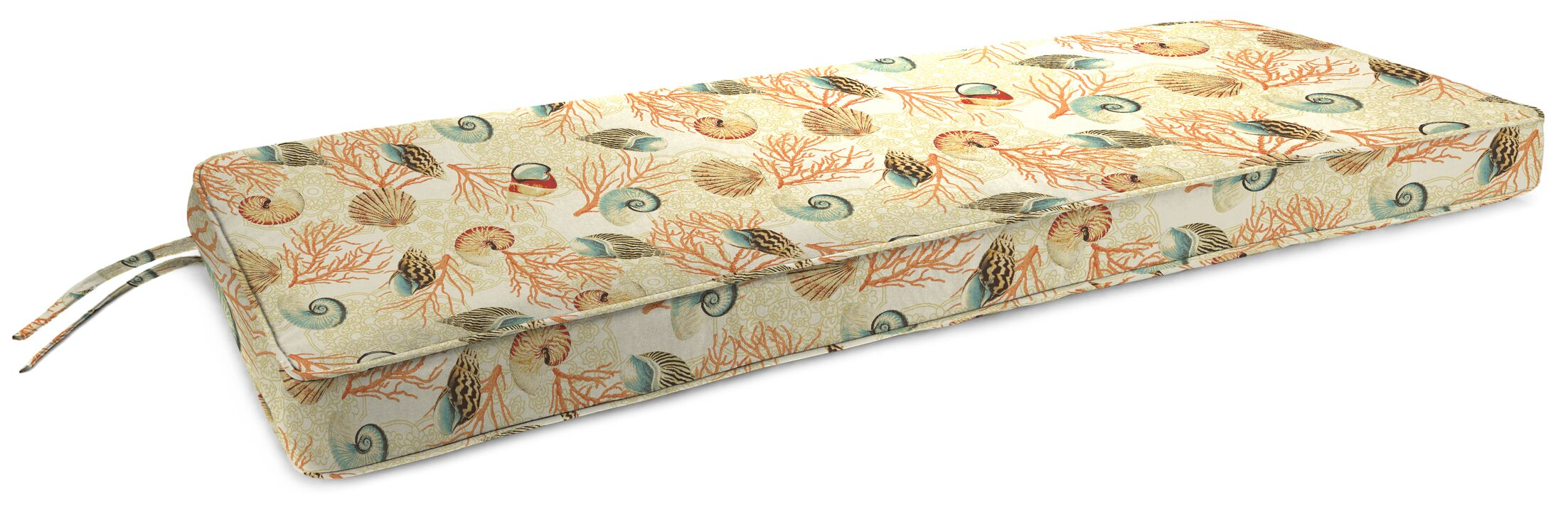 Indoor Bench Cushion Fabric: Shall We Dance Sandcastle