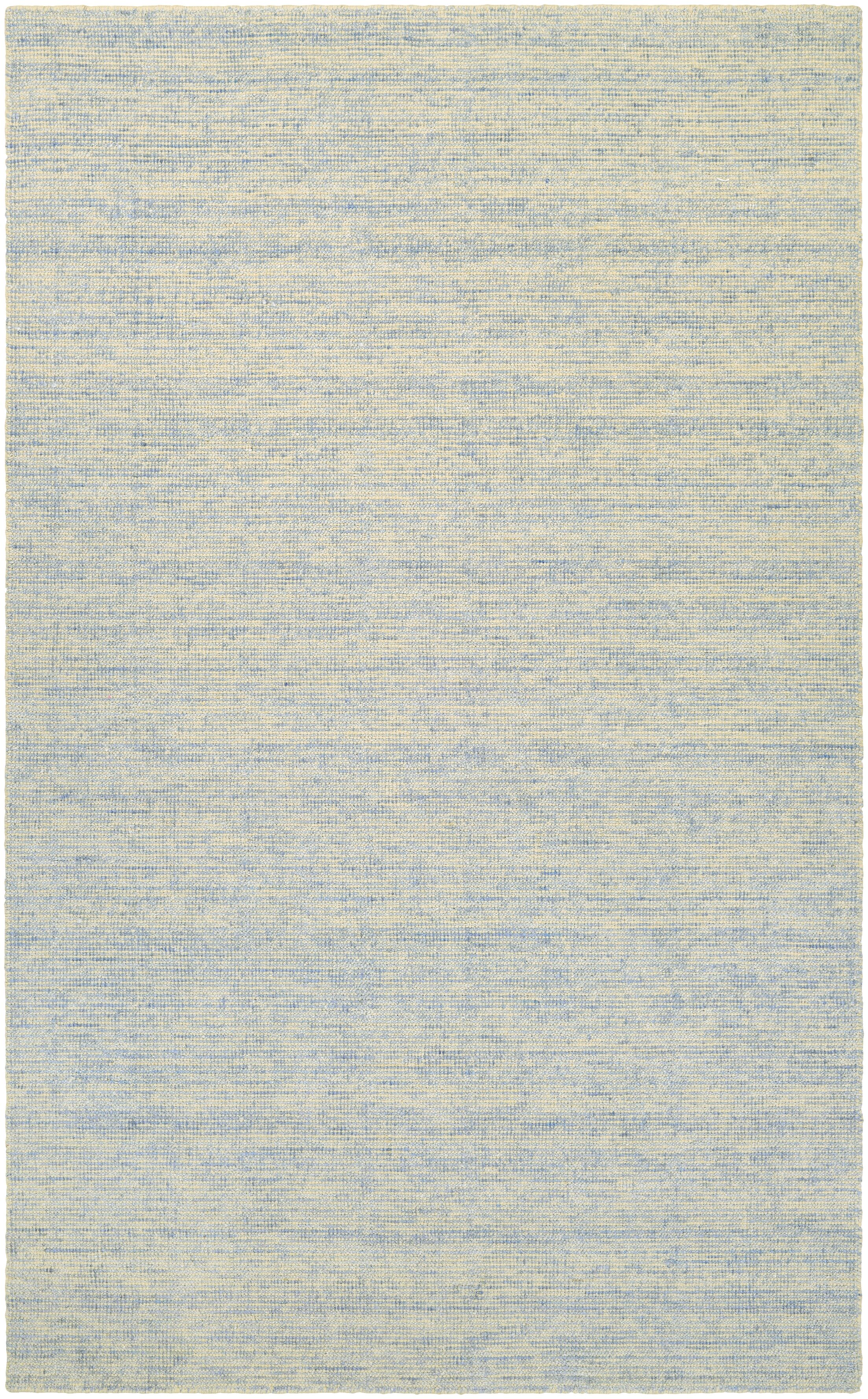 Afton Hand-Loomed Light Blue/Beige Area Rug Rug Size: Rectangle 9'6