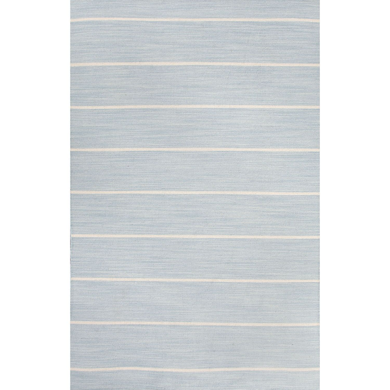 Templeton Blue/Ivory Area Rug Rug Size: Rectangle 8' x 10'